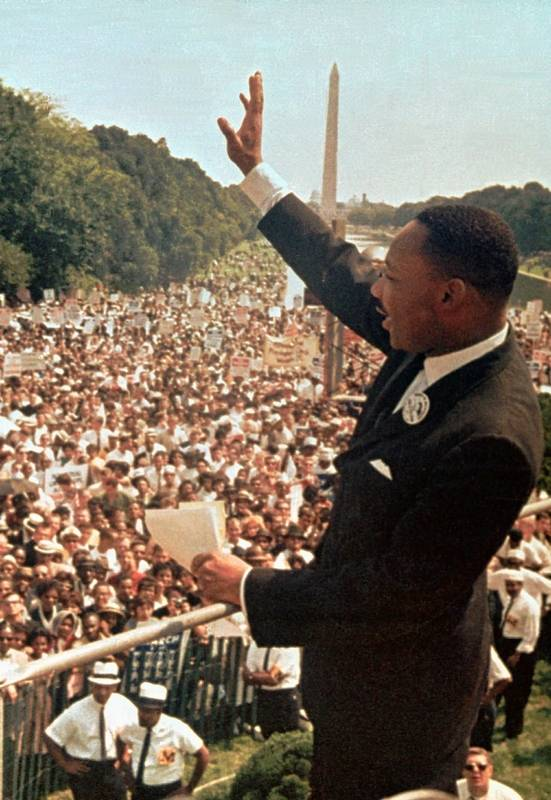 Business Ethics Essay Topics Martin Luther King Jr Acknowledges The Crowd At The Lincoln Memorial For Synthesis Essay Prompt also How To Make A Thesis Statement For An Essay Images Martin Luther King Jr Examples Thesis Statements Essays