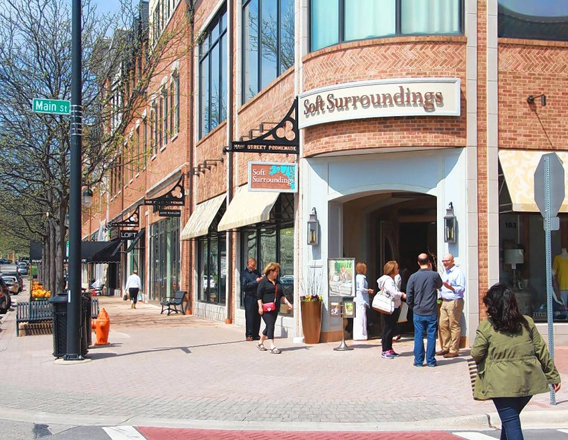 Oak Brook-based Retail Properties of America Inc. has bought Main Street Promenade in downtown Naperville for about $88 million.