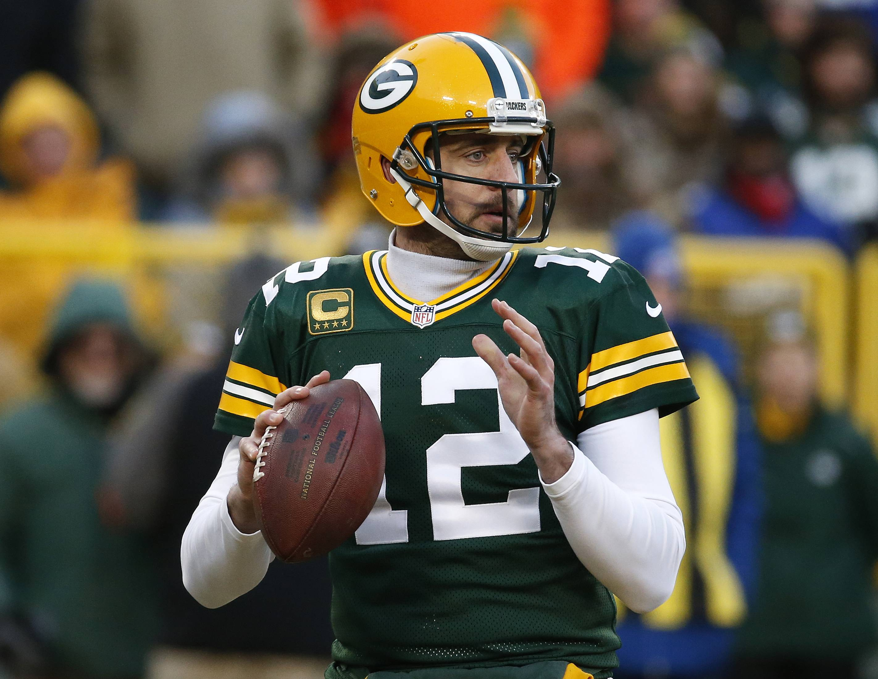 Green Bay Packers quarterback Aaron Rodgers is playing at an elite level that few quarterbacks have ever approached. He has 24 TD passes and just 1 interception in his last nine games. If the Falcons want to beat him, they'll need to figure out a way to contain him.