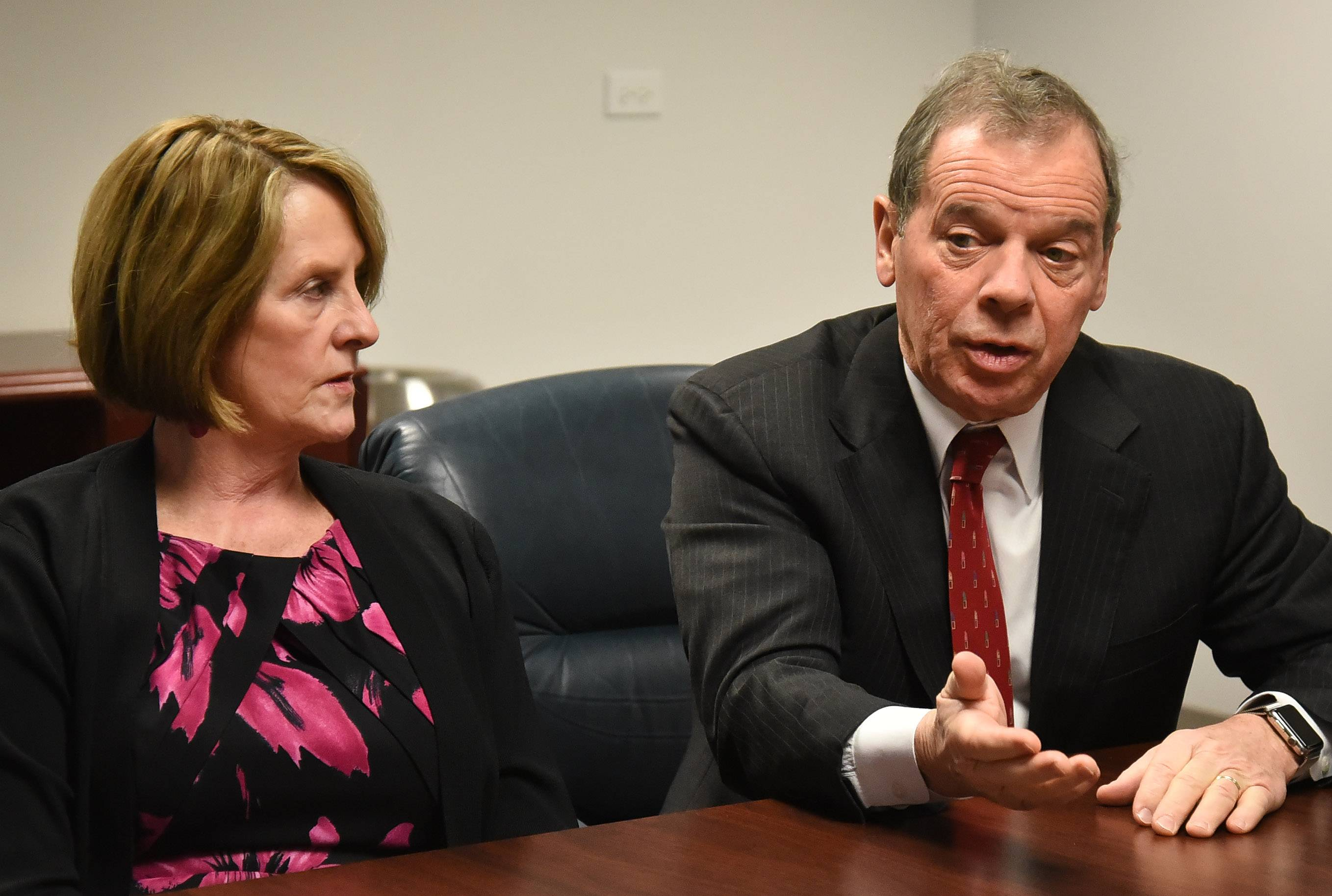 Cullerton, Radogno want to make sure tax hike is 'adequate'