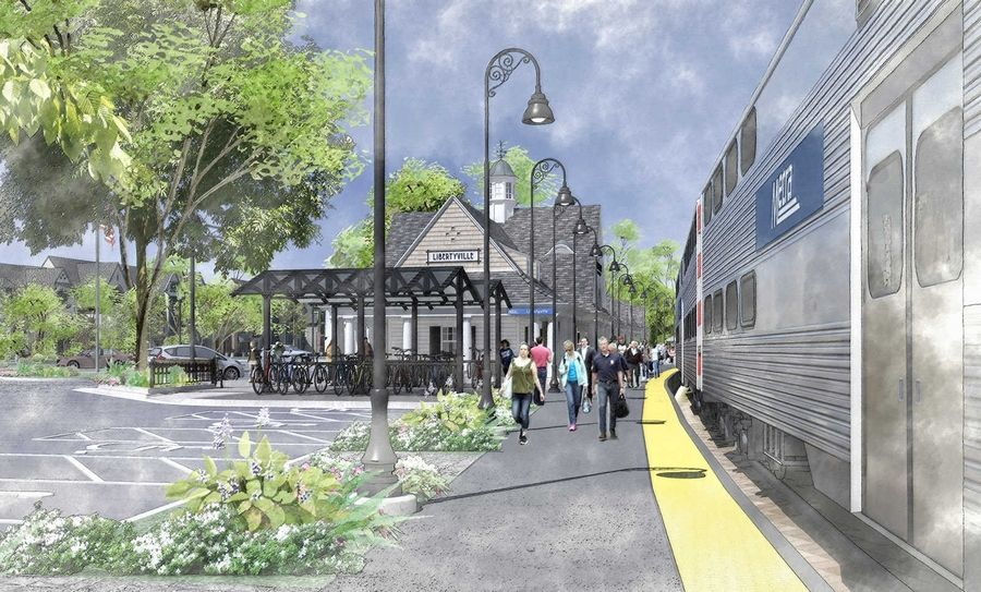 Libertyville plans to renovate its downtown Metra station with a groundbreaking possible in April.