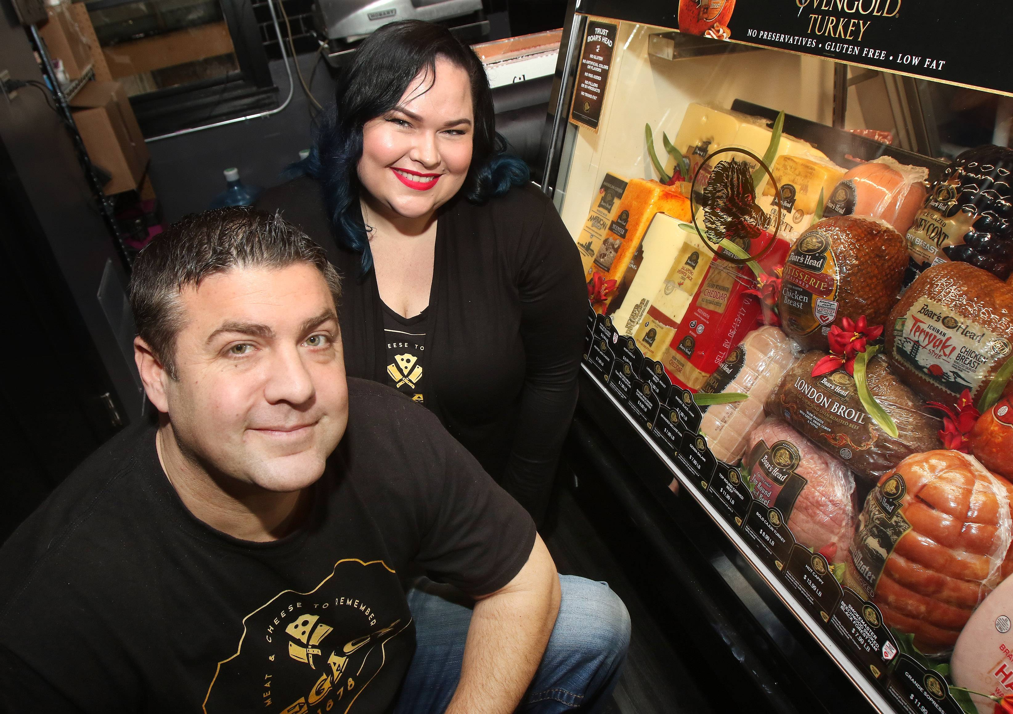 Entrepreneurs Carl Waggoner and Megan McCracken have opened a meat and cheese shop called Legacy 1878 in downtown Wauconda.