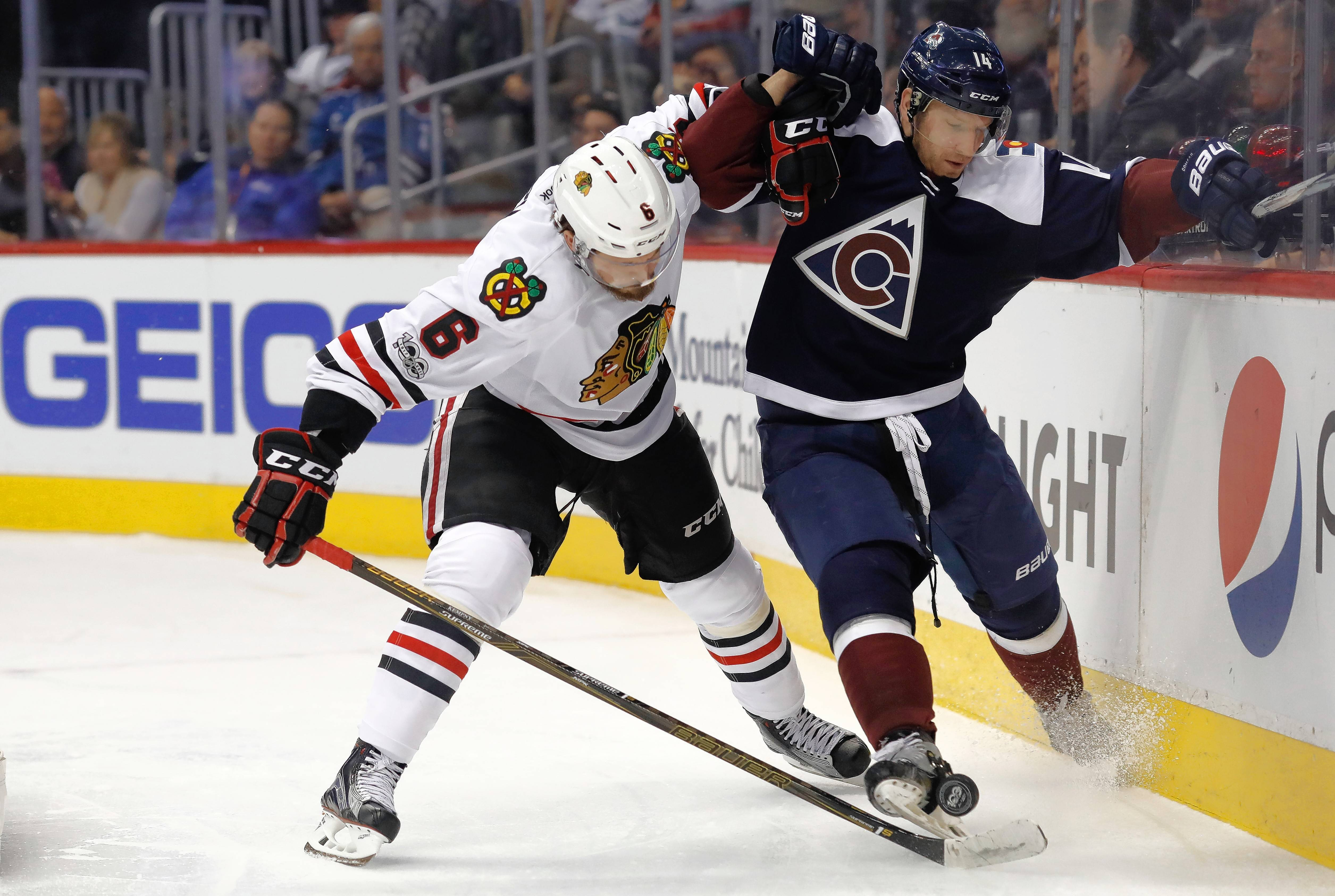 Chicago Blackhawks defenseman Michal Kempny struggled Sunday against the Canucks, letting poor play and poor decision-making lead to 2 Vancouver goals in the third period to tie the game.