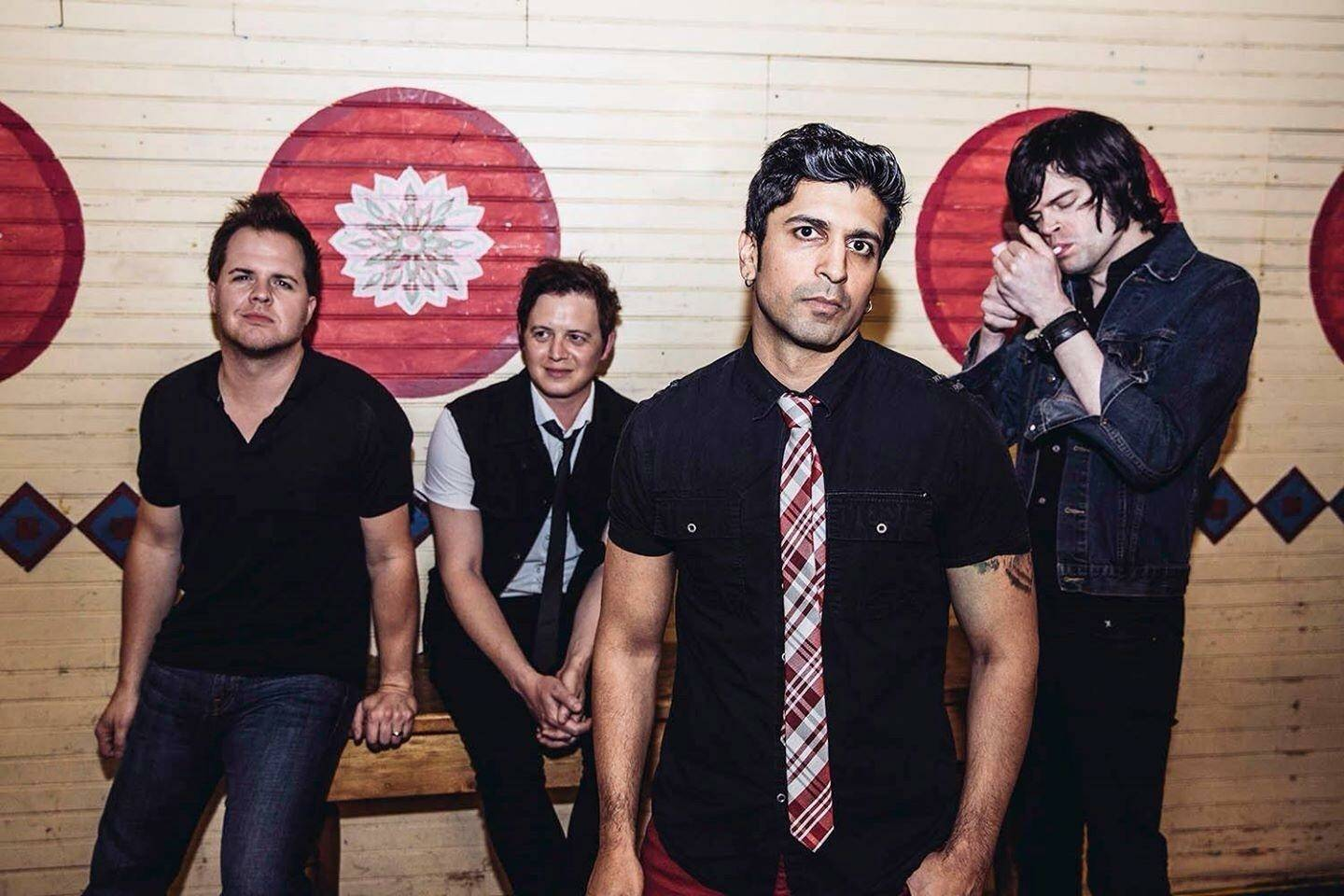 Lucky Boys Confusion -- Ryan Fergus, from left, Jason Schultejann, Stubhy Pandav and Adam Krier -- announced an album-release show Monday for Saturday, April 15, at the House of Blues.