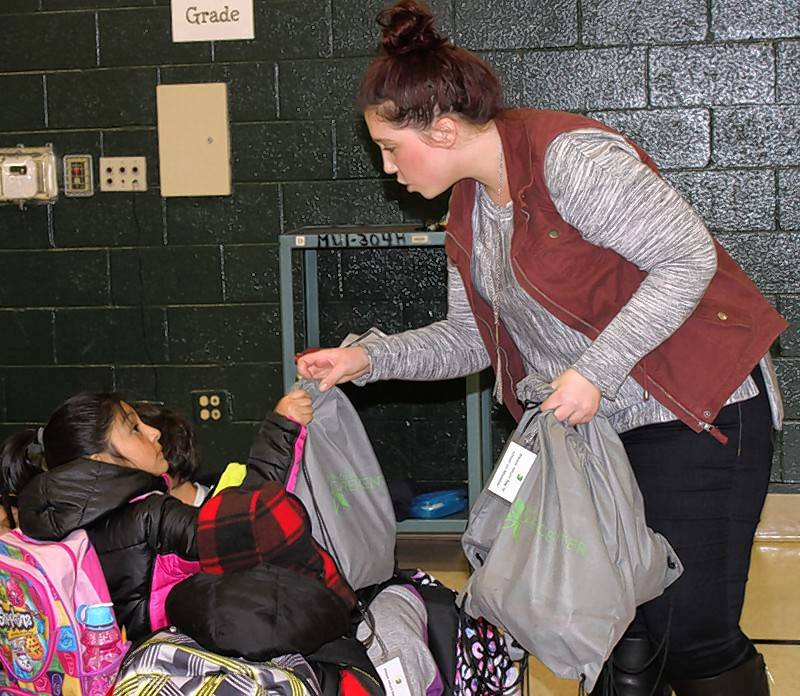 willow creek works through school to reach those in need
