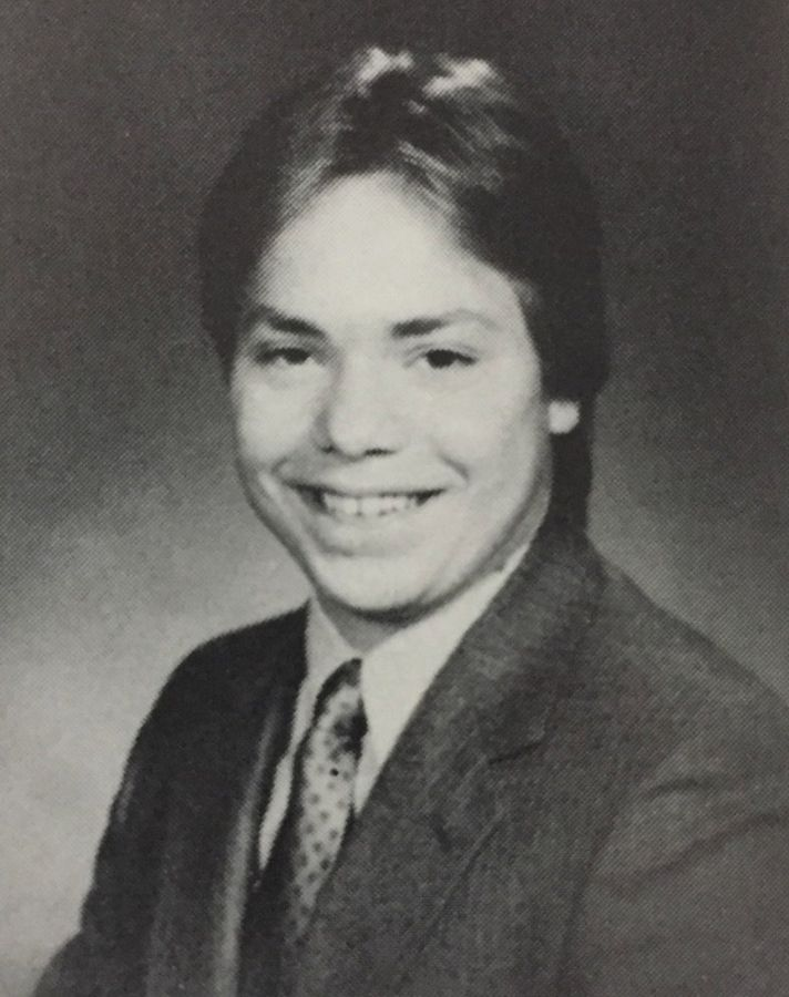 Jack Thomas, senior year, Libertyville High School 1986.