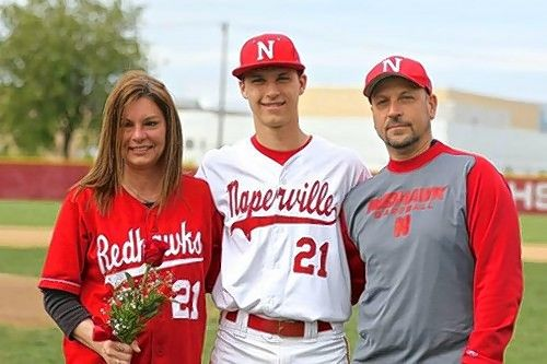 Justin Wegner, the younger son of Cathy and Ed Wegner of Naperville, played baseball and football at Naperville Central High School before becoming a catcher for the University of Wisconsin-Whitewater's baseball team his freshman year. He then was diagnosed with a rare form of cancer in June 2016, but is hoping to go back to school in the fall.