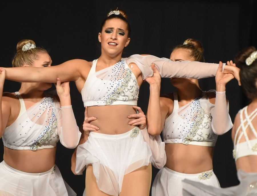 Bartlett High School performs Saturday during the Competitive Dance finals at U.S. Cellular Coliseum in Bloomington.