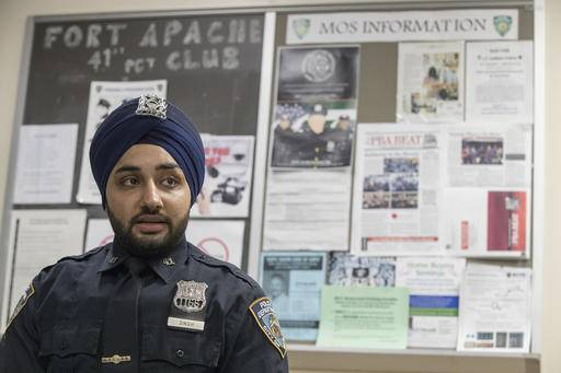 fashion police cops ease rules on tattoos turbans beards. Black Bedroom Furniture Sets. Home Design Ideas