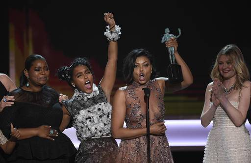 Octavia spencer from left janelle monae taraji p henson and