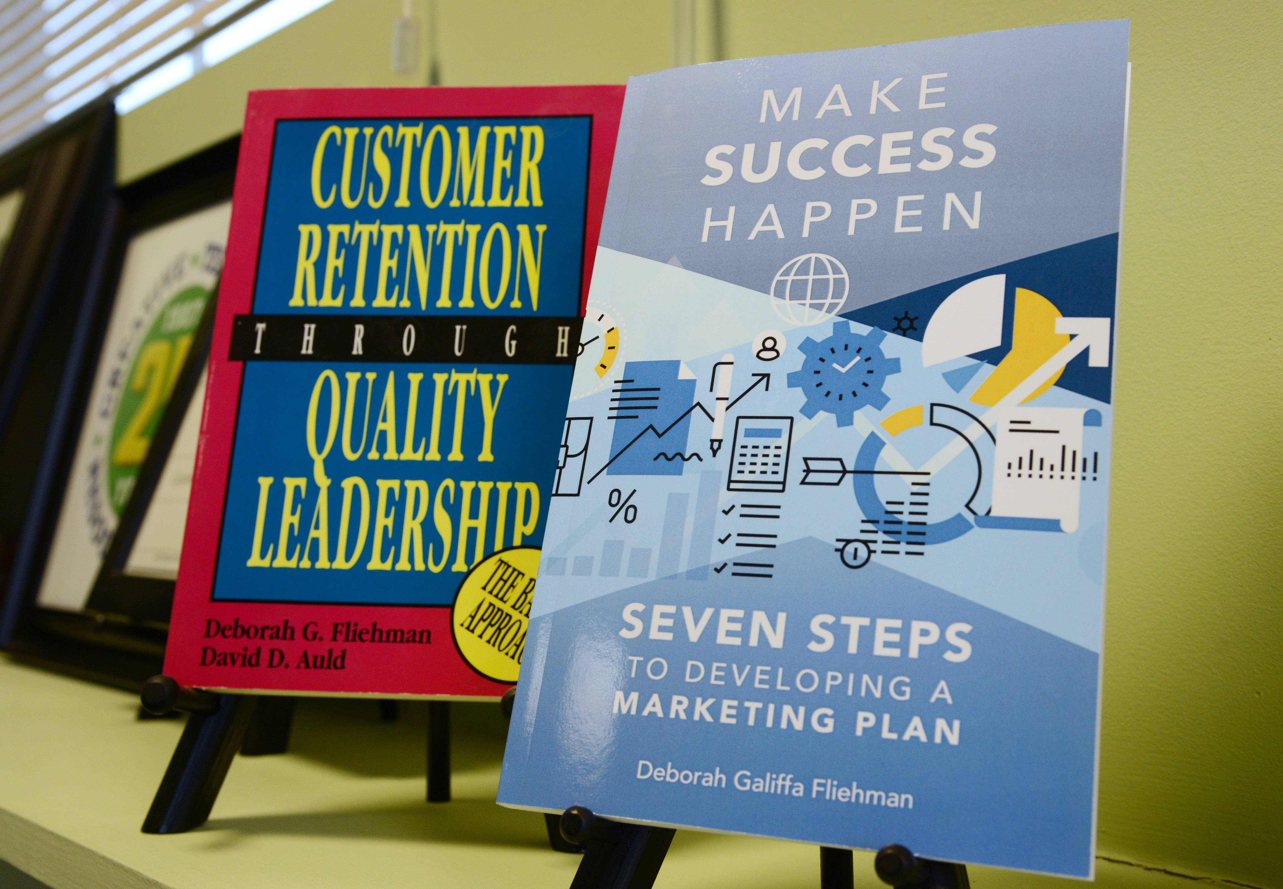"Books written by Deborah Fliehman, president of Creative Technical Resources in Lincolnshire, including her newest book ""Make Success Happen""."