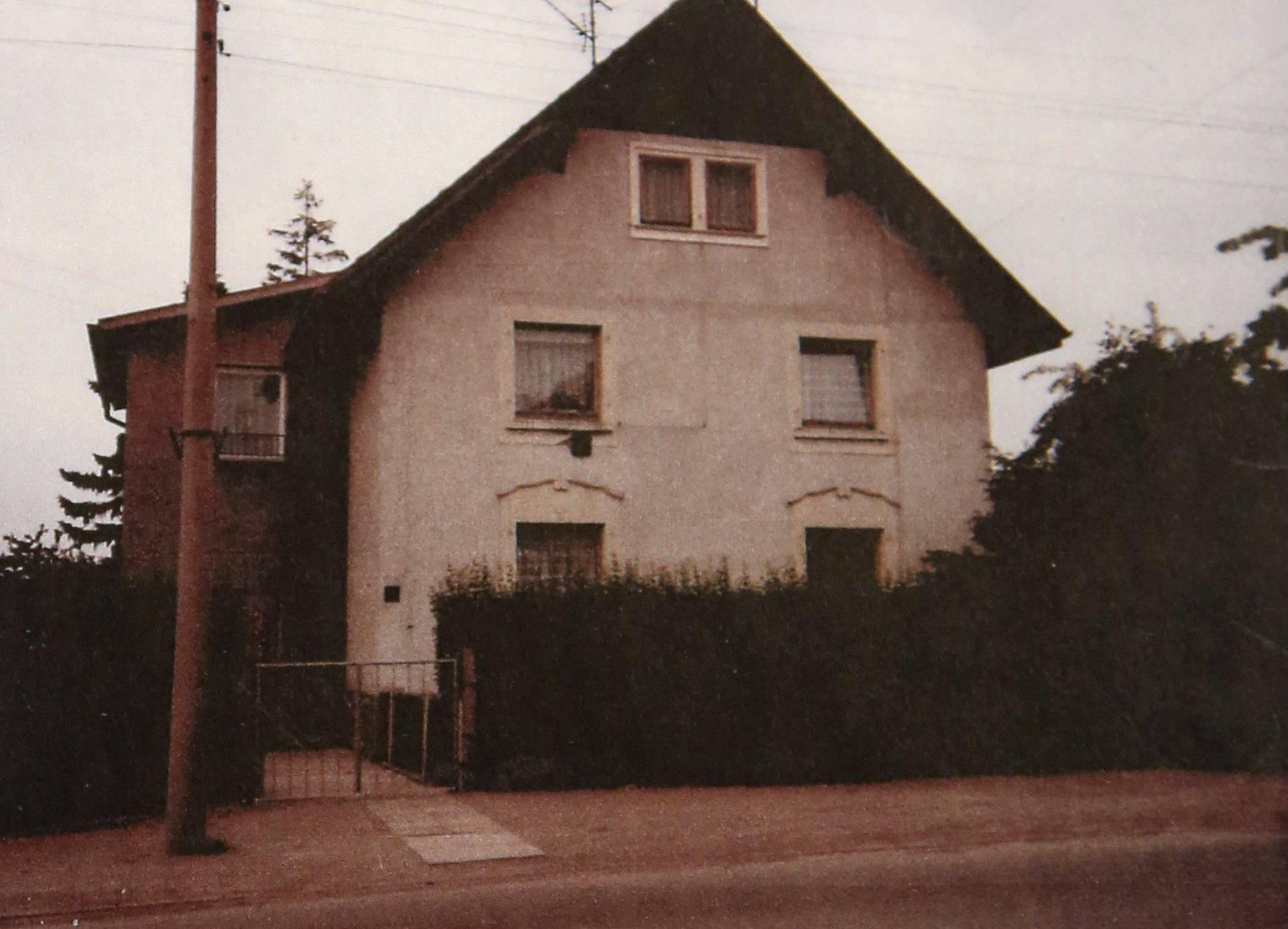 Ralph Rehbock's family lived in this home in Gotha, Germany. The night after the family left, Nazis came looking for them in the violent rampage of Kristallnacht.