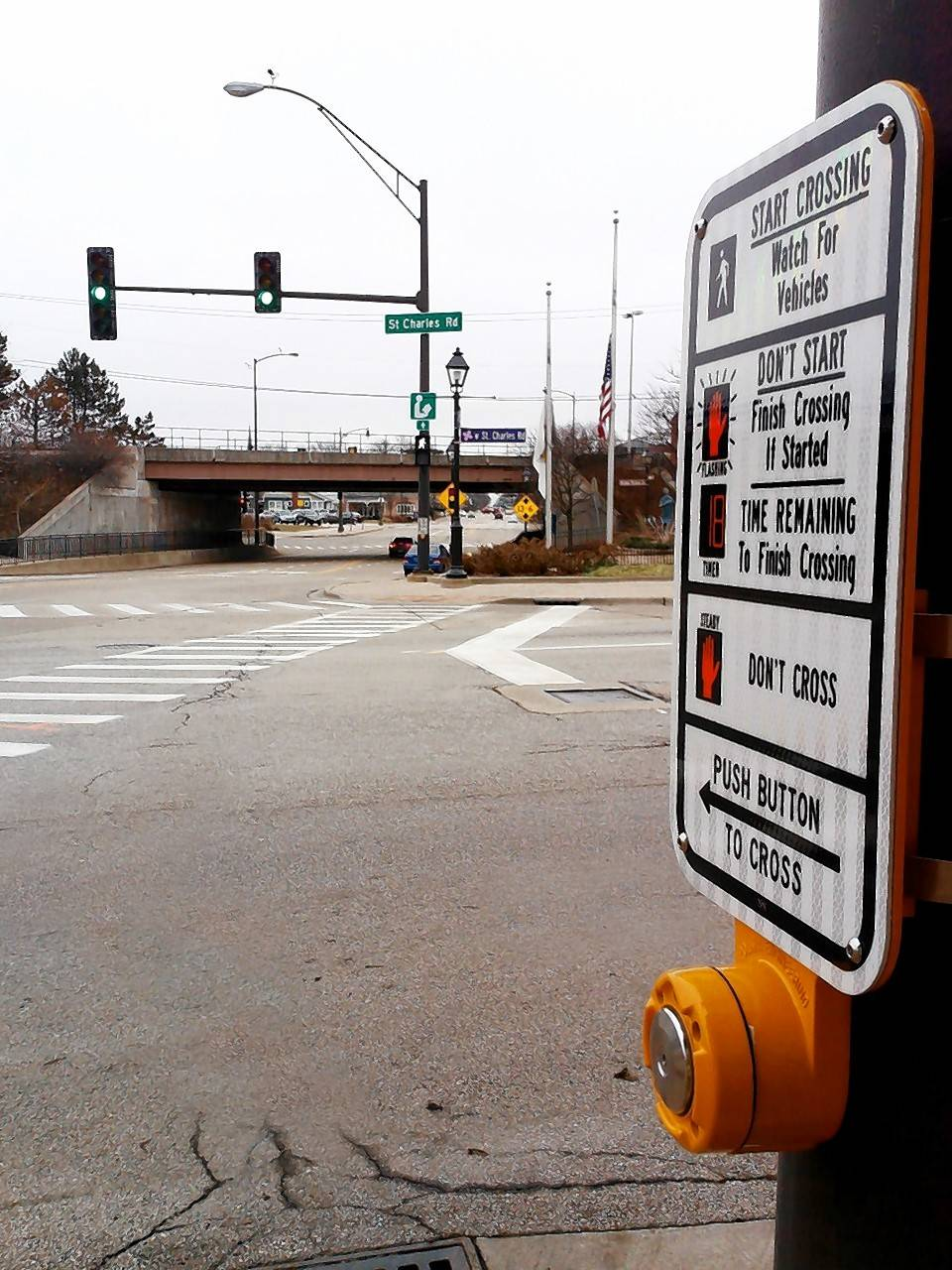 Lombard is modernizing 24 traffic signals during the next four years near downtown, Glenbard East High School and Glenn Westlake Middle School to provide countdowns for pedestrian crossings and LED lights for lower cost and brighter visibility.