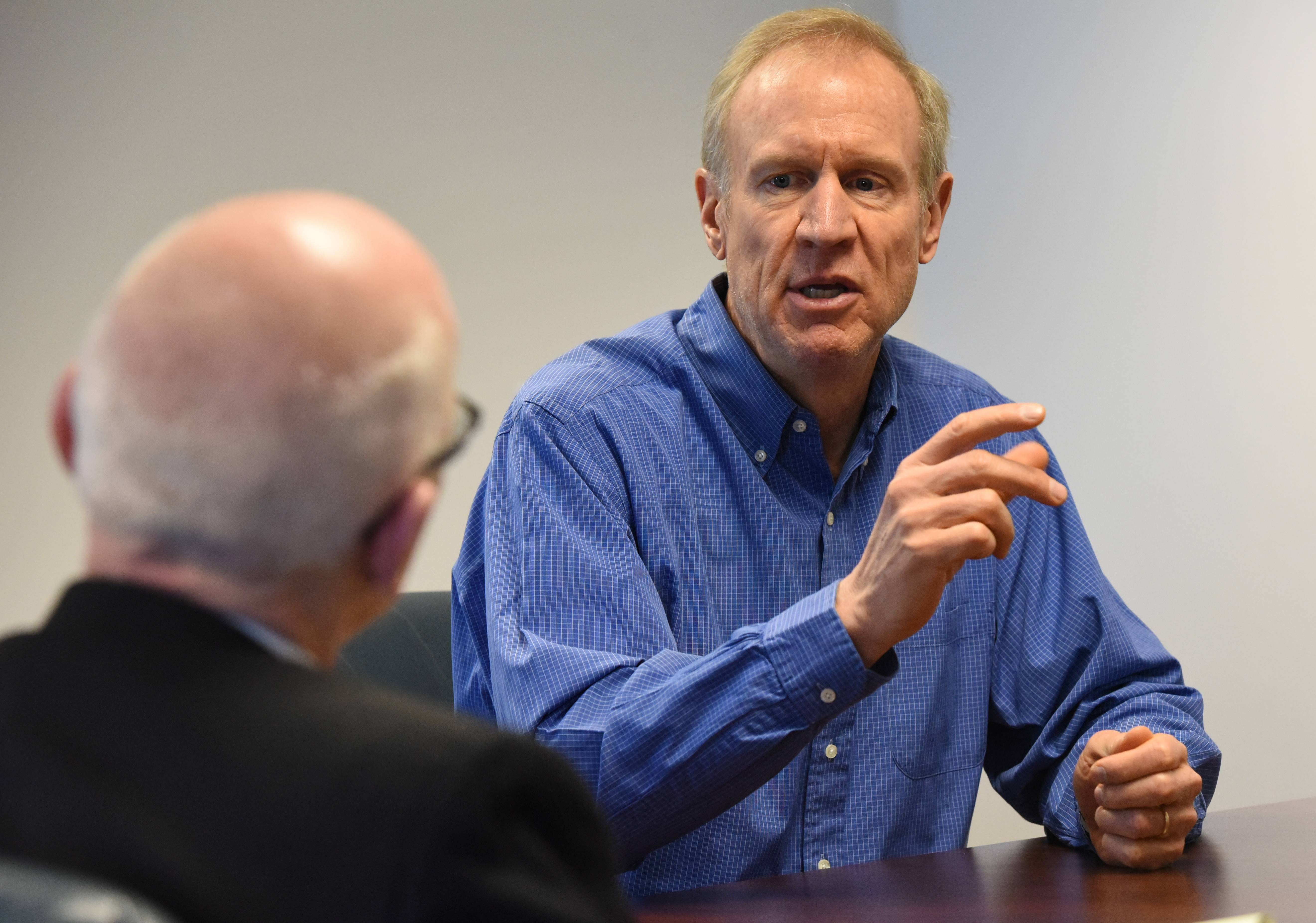 Rauner will urge Trump administration against full Obamacare repeal