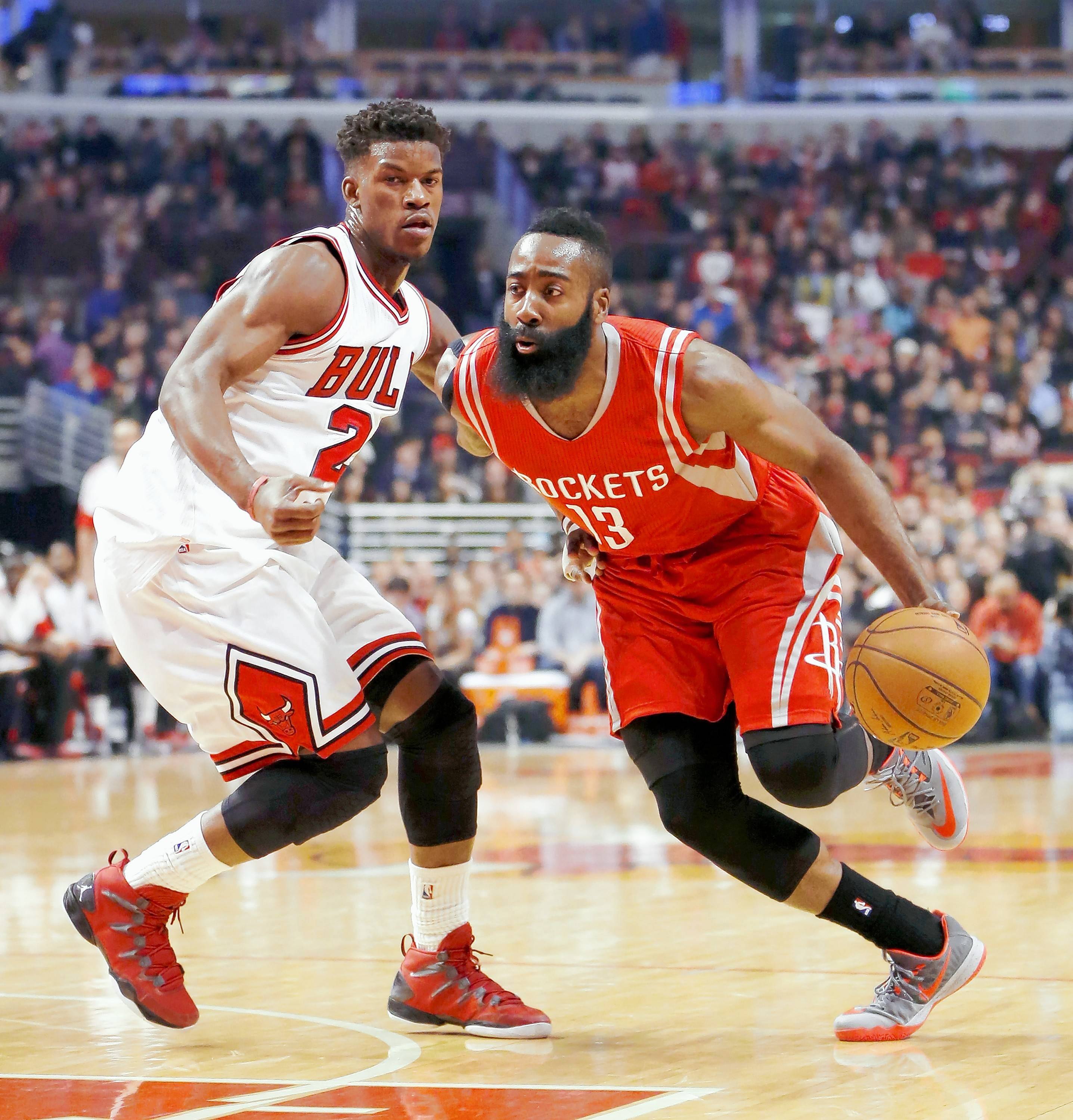 Houston, Harden might be Butler's toughest assignment this season