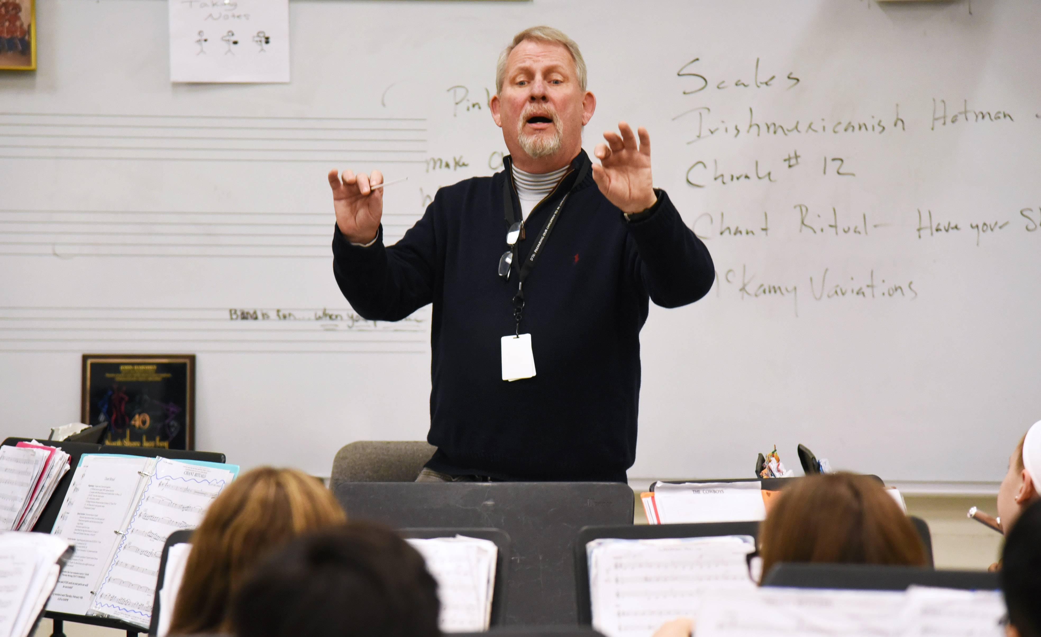West Oak band director ready for swan song after 29 years