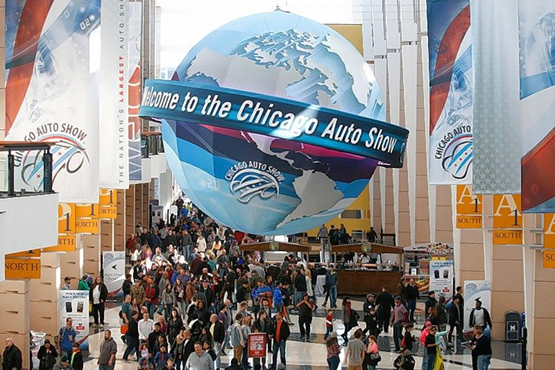 Although technology will be present on the show floor, some of the hottest technology at the 109th Chicago Auto Show will be on attendees' smartphones.