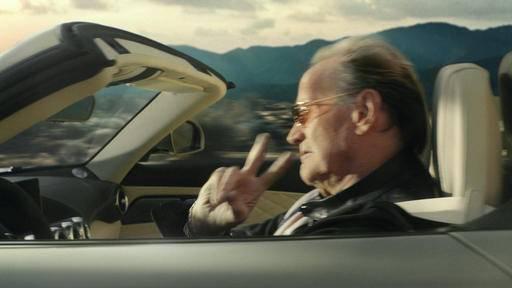 Mercedes Benz Commercial Peter Fonda Filmed
