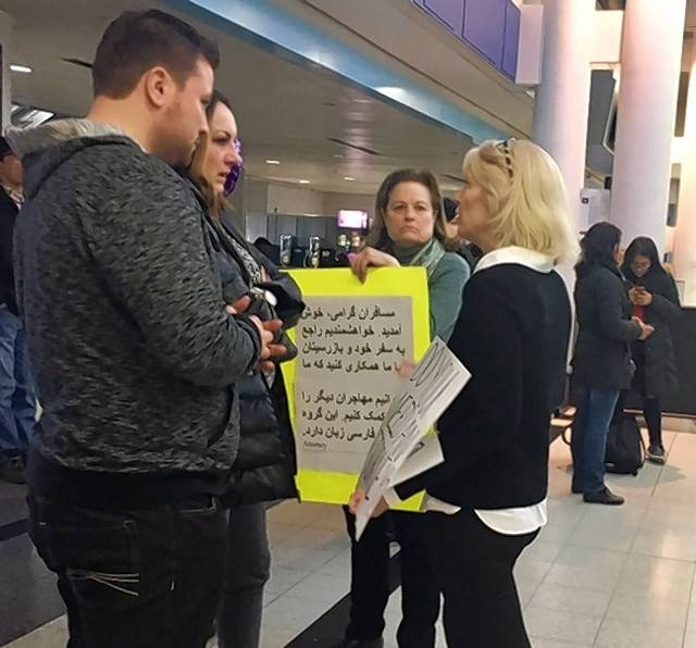 Uncertainty at O'Hare as temporary travel ban hangs in the balance