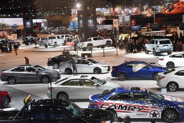 In Transit Chicago Auto Show Roars Into Town Saturday - Mccormick place car show
