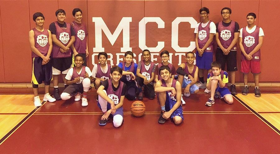 MCC Academy's varsity boys basketball team is following the same path of success this season as its history-making girls team, the only ones in the Illinois Elementary School Association's history to wear hijabs on the court.