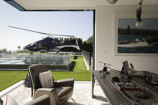 at 250m los angeles home most expensive listed in us. Black Bedroom Furniture Sets. Home Design Ideas