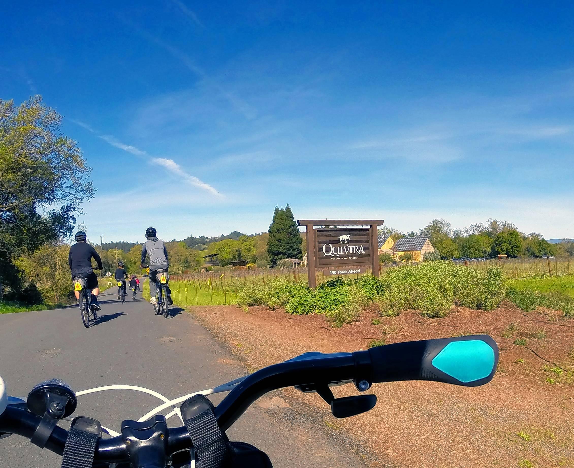 No whining on hiking, biking tours along Sonoma County vineyards