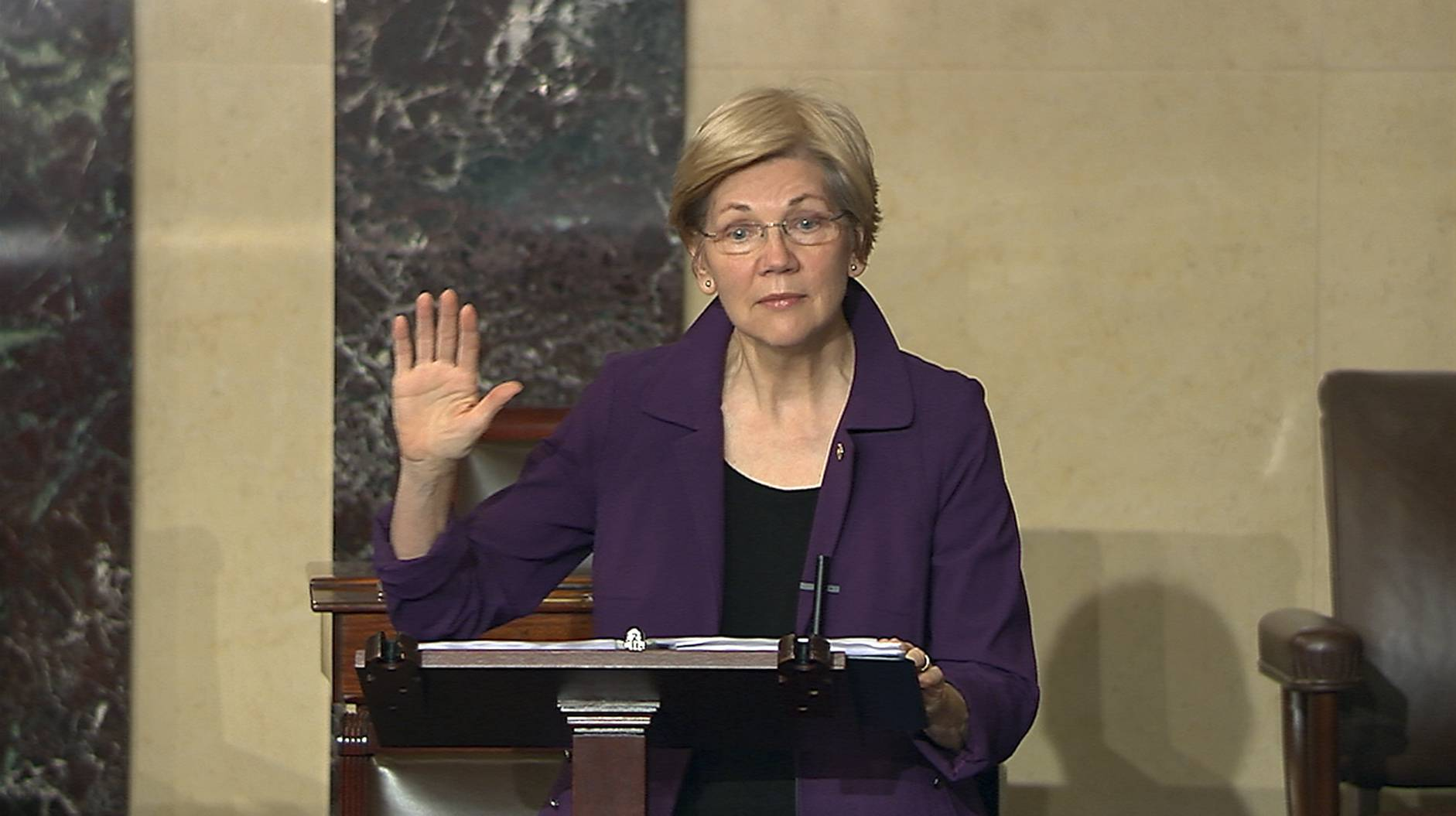 America got a civics lesson Tuesday night when Senate Republicans used an obscure rule to shut down a speech by Sen. Elizabeth Warren, D-Mass., that criticized Sen. Jeff Sessions, R-Ala., the nominee for attorney general.