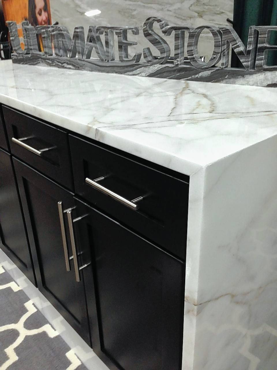The Old House New House Home Show will include a variety of displays such as this marble countertop by Ultimate Stone, based in Elk Grove Village.