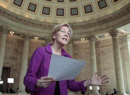 Rancorous Senate 'silencing' gives Warren a national boost