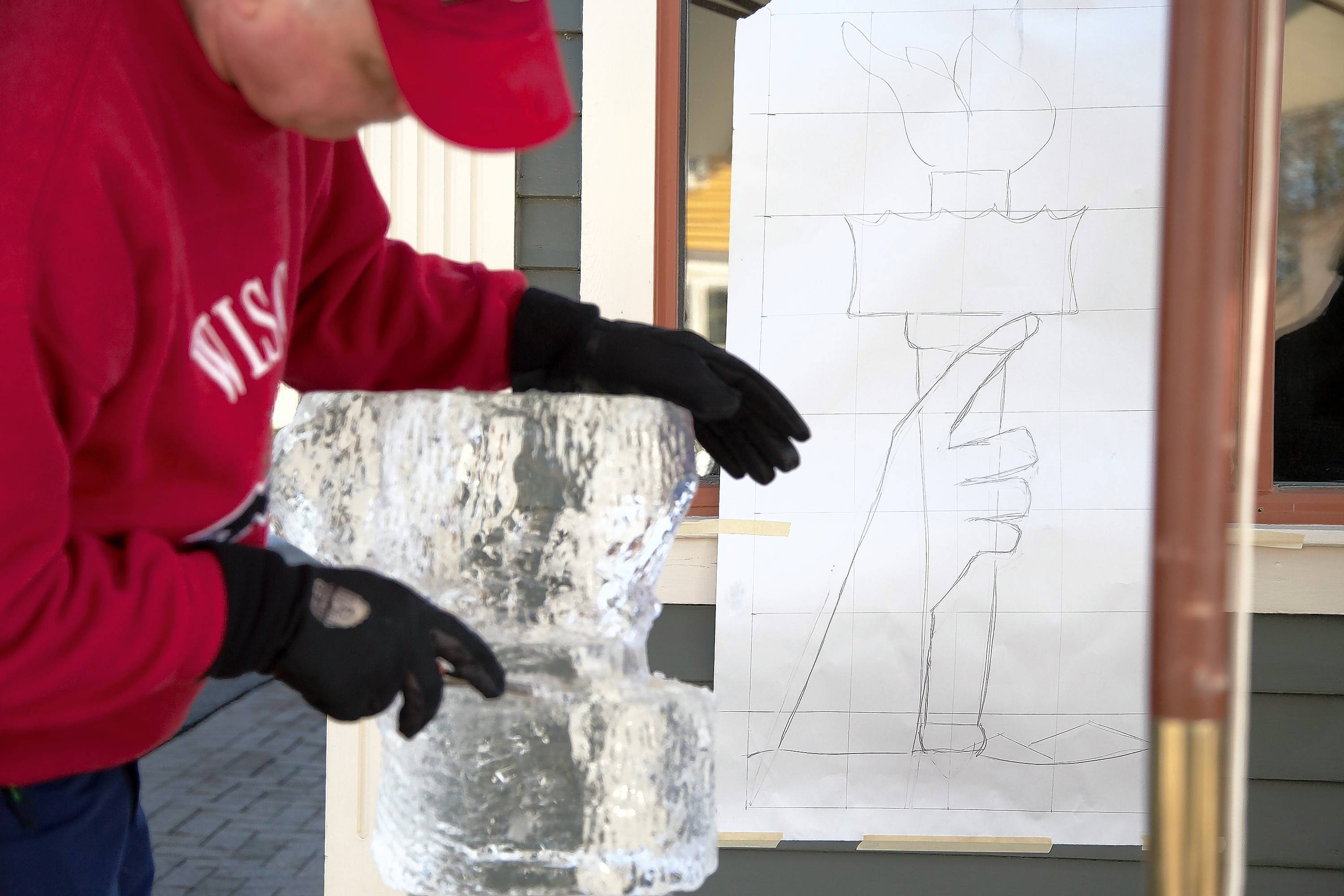 Watch ice-carving demonstrations as part of the 43rd Annual Winter Festival in Cedarburg, Wis., Feb. 18-19.