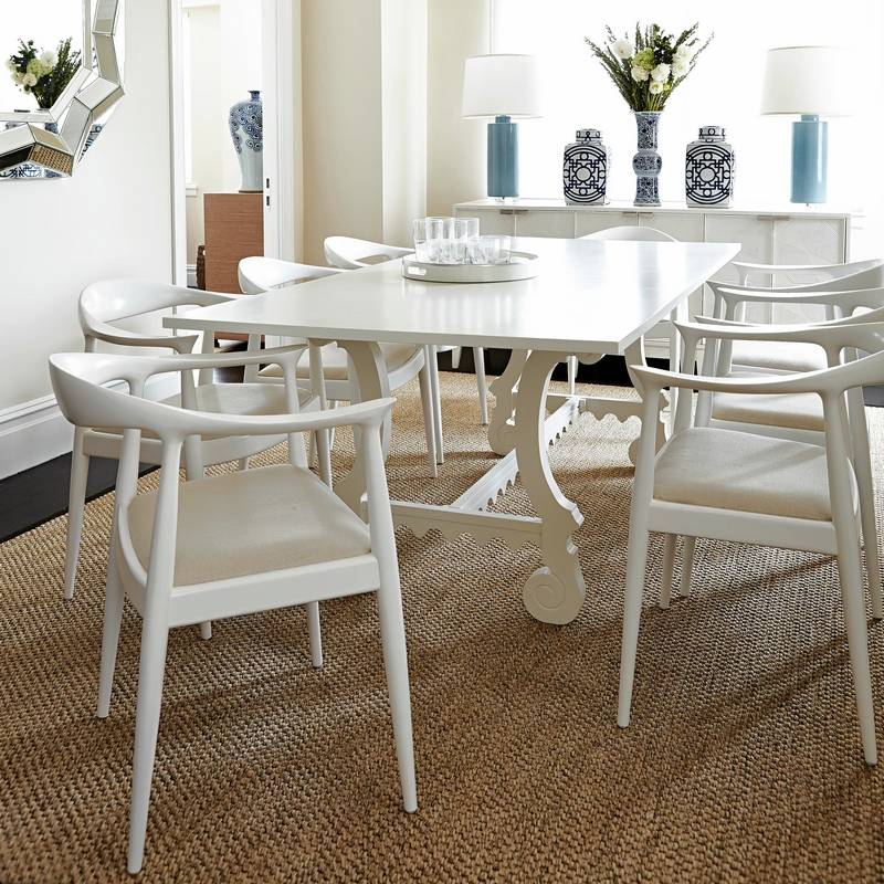 Wondrous Craving A Lighter Dining Room Try A White Table Caraccident5 Cool Chair Designs And Ideas Caraccident5Info