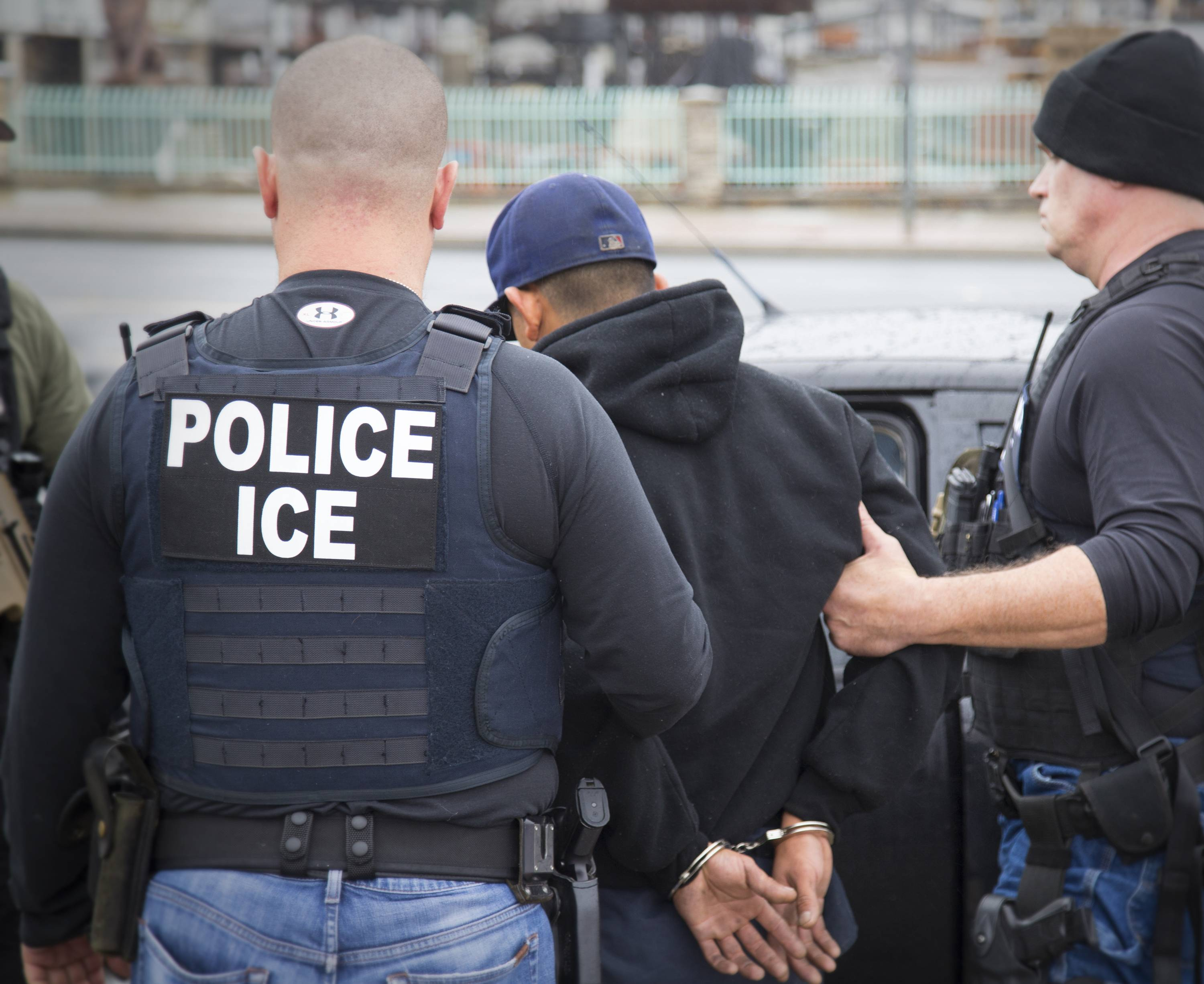 33 in suburbs arrested in federal immigration sweep