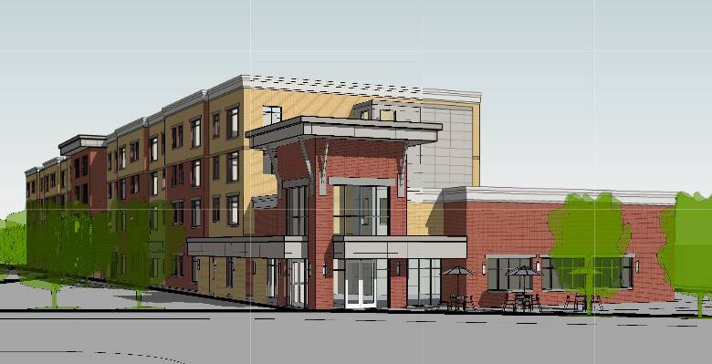 A developer wants to build a $20 million apartment building for senior citizens in downtown Mundelein.
