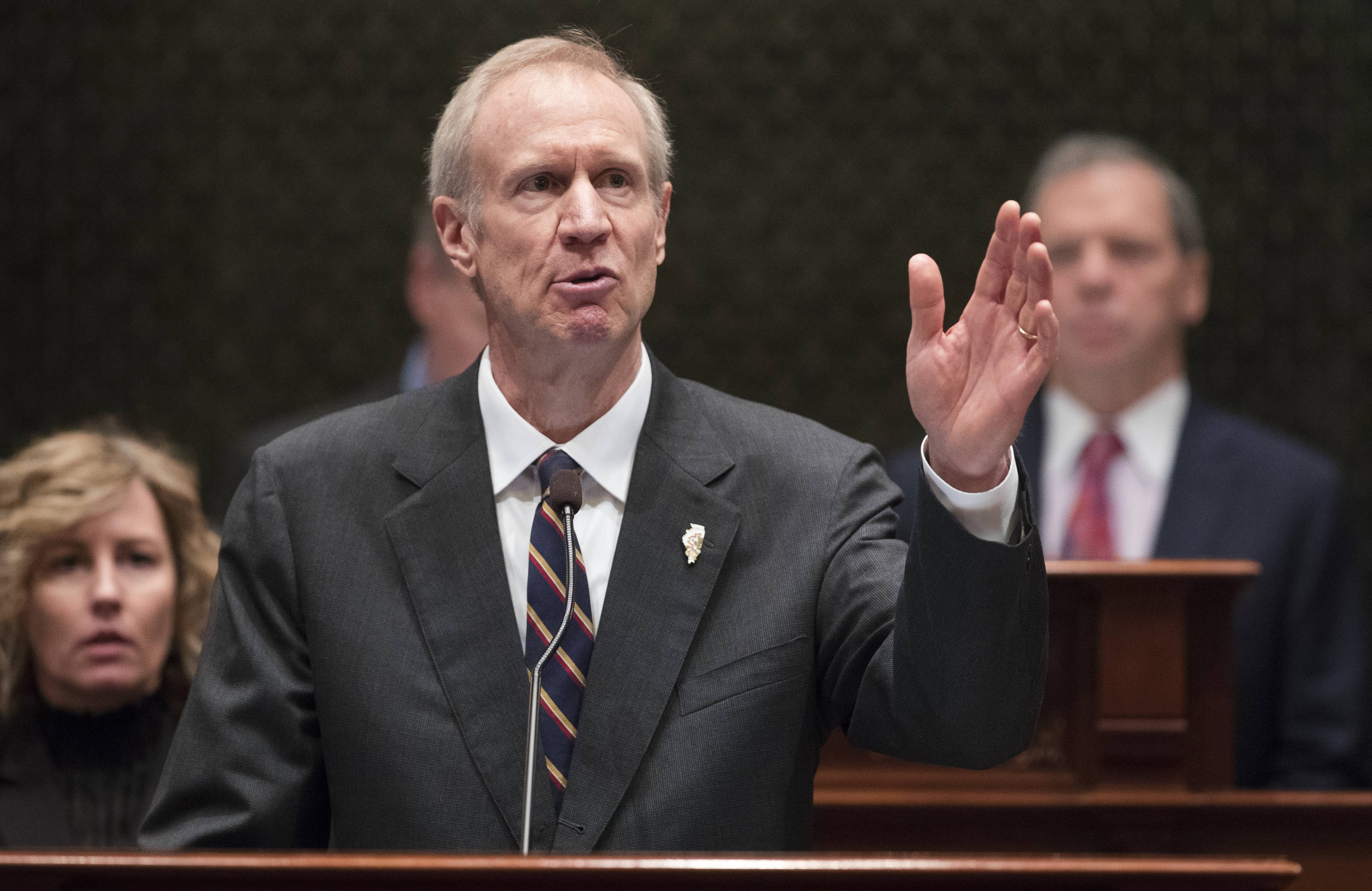 Illinois Gov. Bruce Rauner will propose a third annual budget that is likely to be shelved by the Legislature -- just like his first two -- as he addresses a joint session of the Legislature on Wednesday.