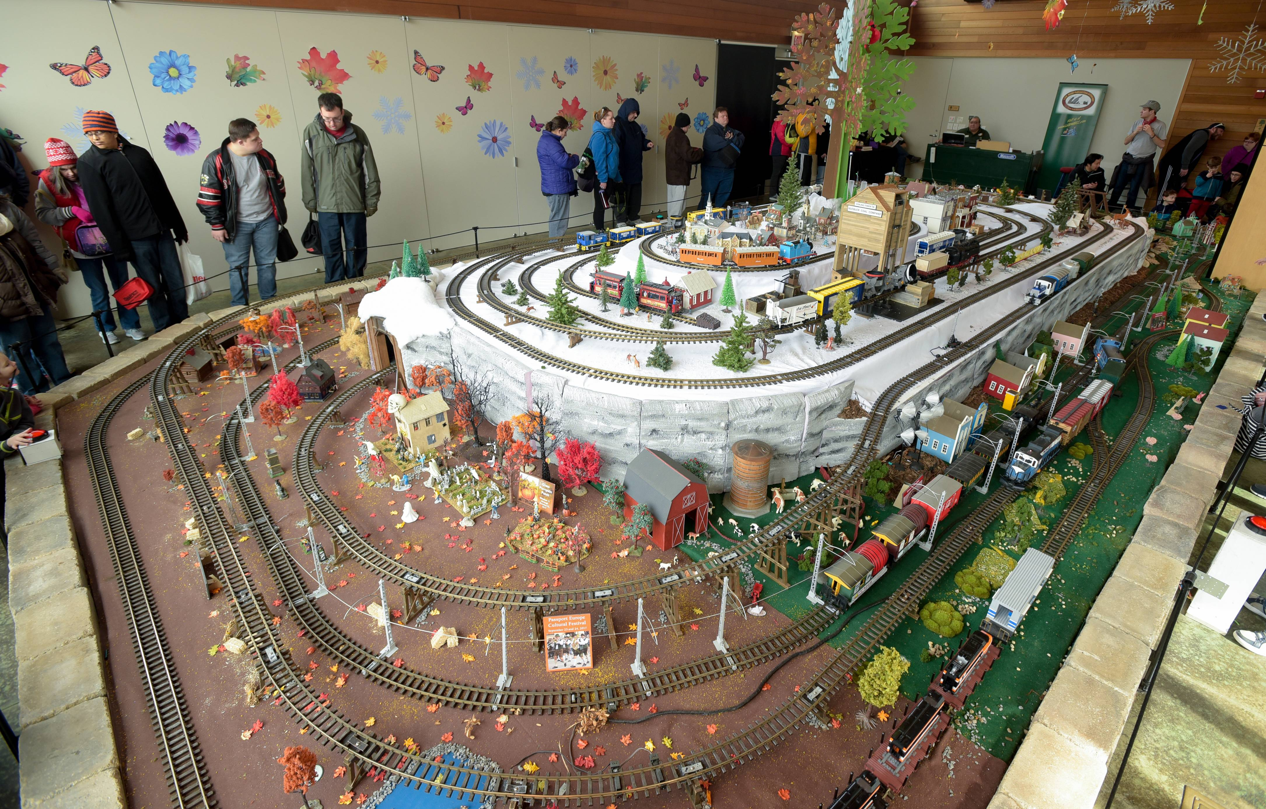 The Enchanted Railroad display will close Sunday evening after a monthlong run at the Morton Arboretum in Lisle.