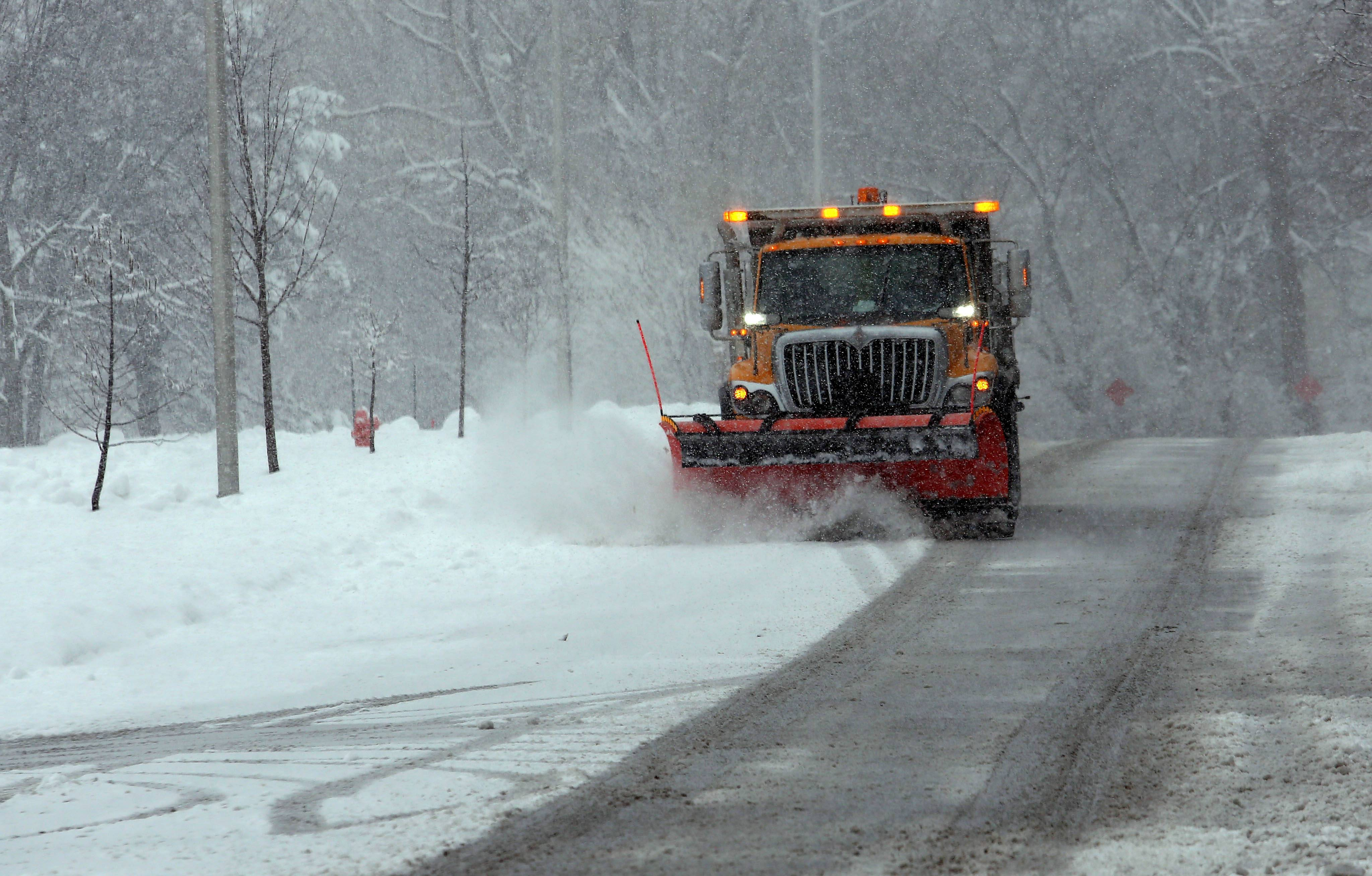 Snow plowing is one service that could be handled by a combined Lisle/Naperville township road district if voters choose to approve a merger proposal on the April 4 ballot. The districts would merge gradually during the next four years.