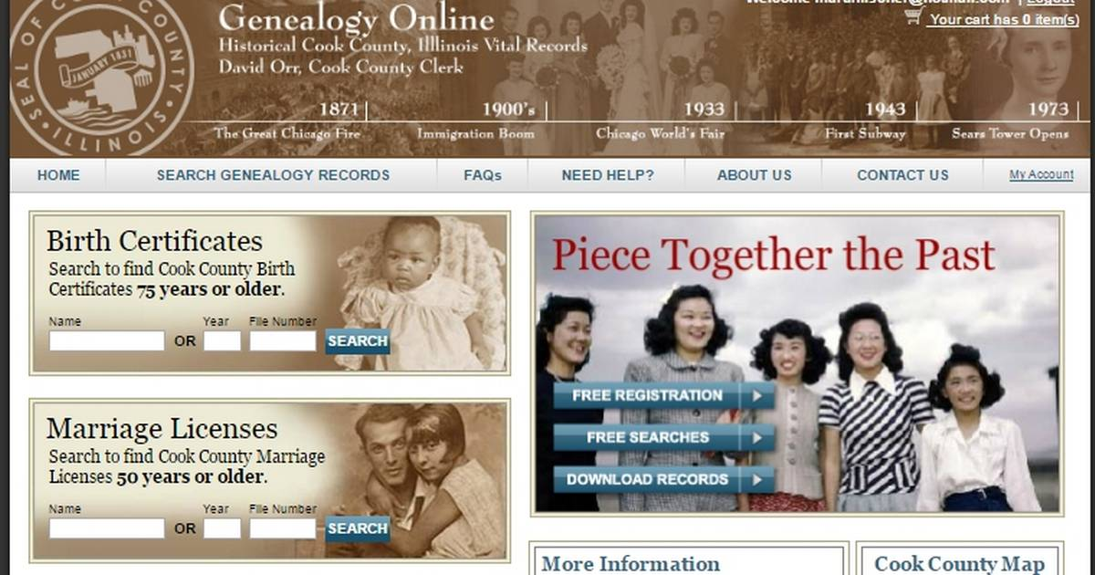 Jewish Genealogical Society Of Illinois To Host Cook County Vital