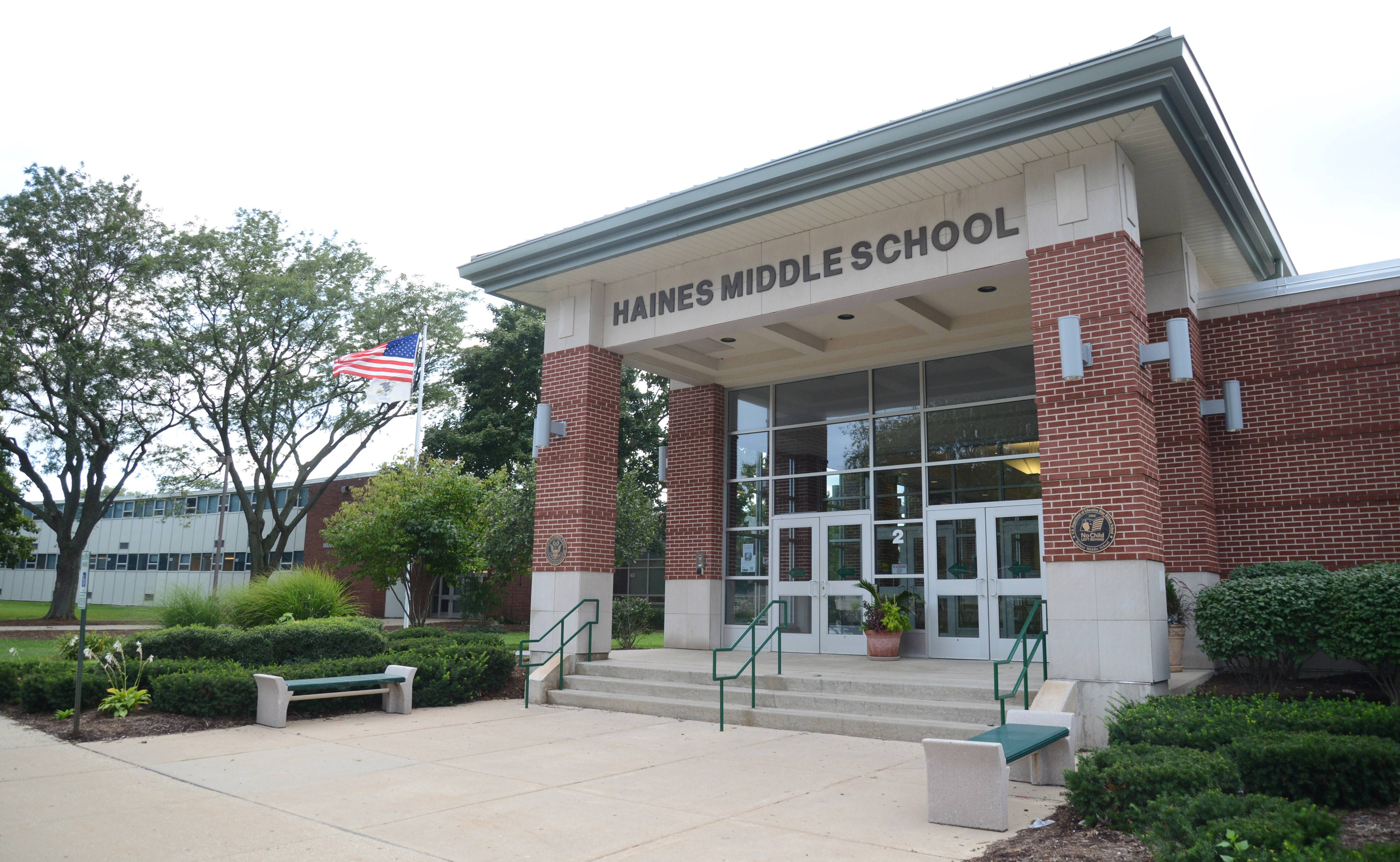 Haines Middle School in St. Charles will close in two years, and District 303 school board candidates differ on whether to keep it or sell the property.
