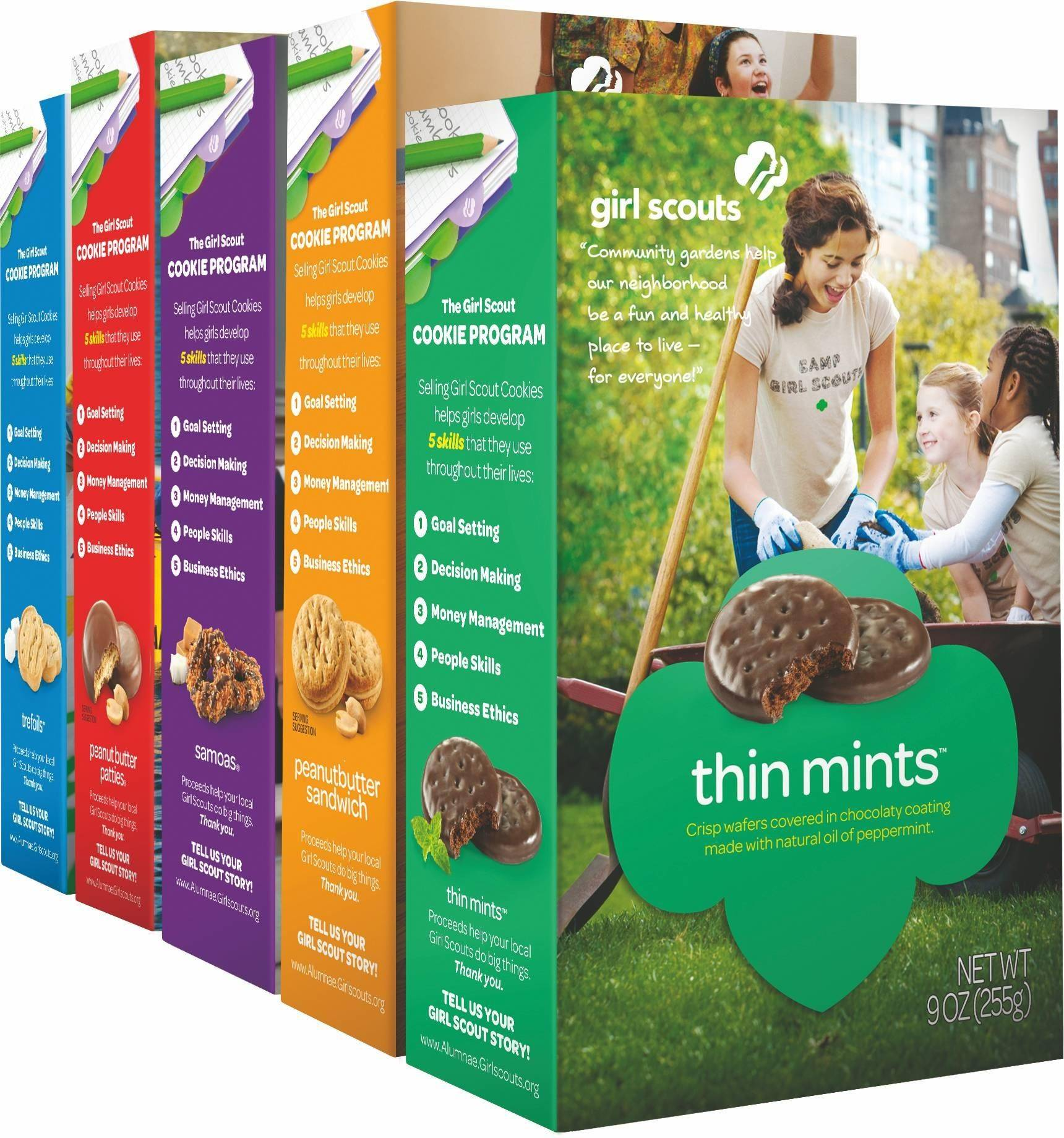 find your favorite girl scout cookies at a booth near you