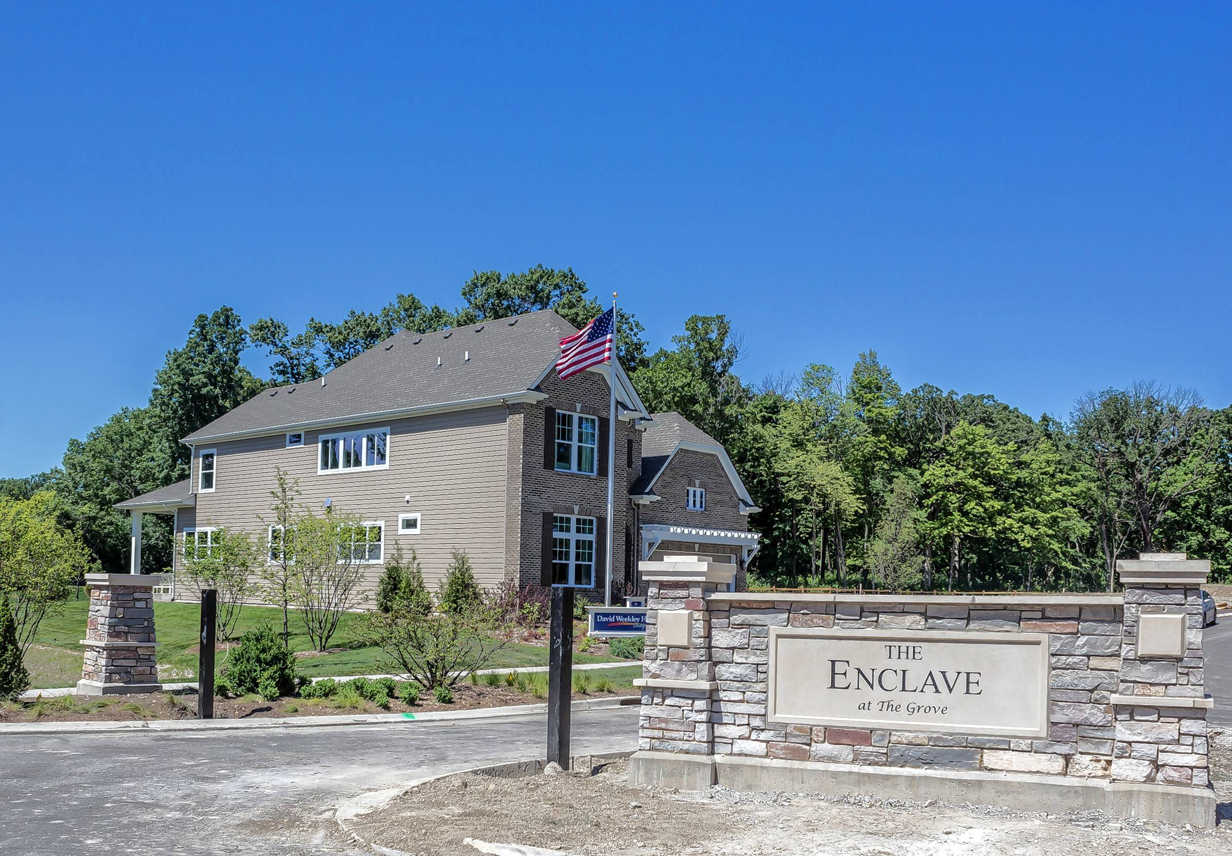 The Enclave at the Grove is a new, multigenerational gated community being built in Glenview.