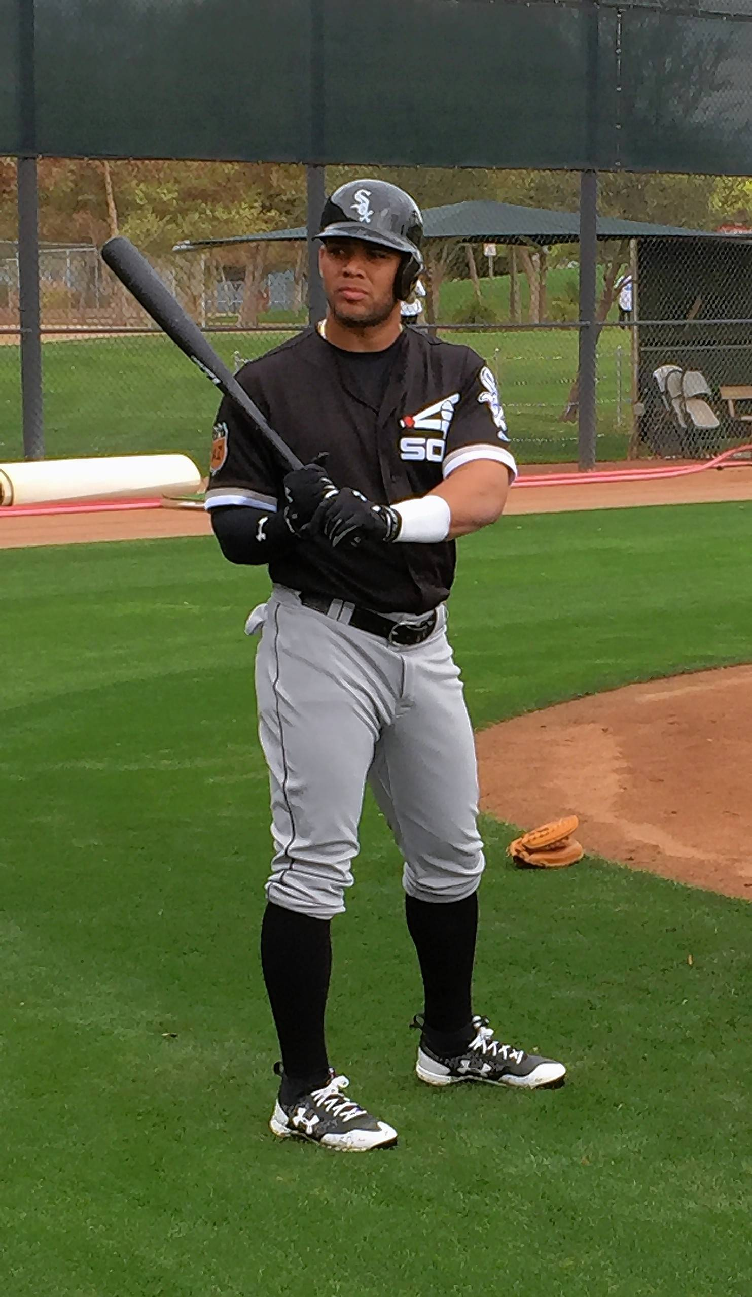 Yoan Moncada was acquired by the White Sox from Boston in the Chris Sale trade.