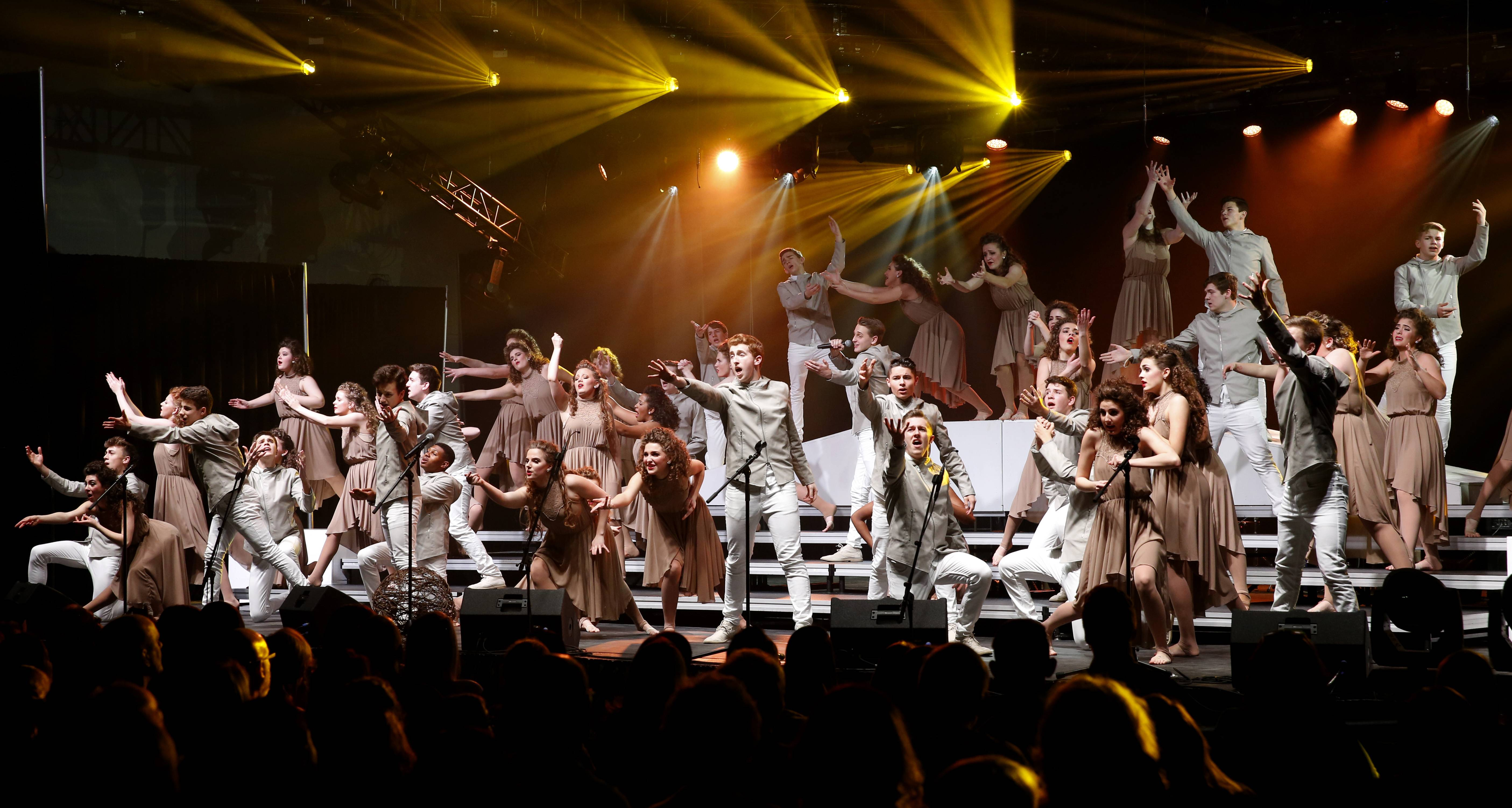 Show choirs compete at Naperville North's Clash of the Sequins