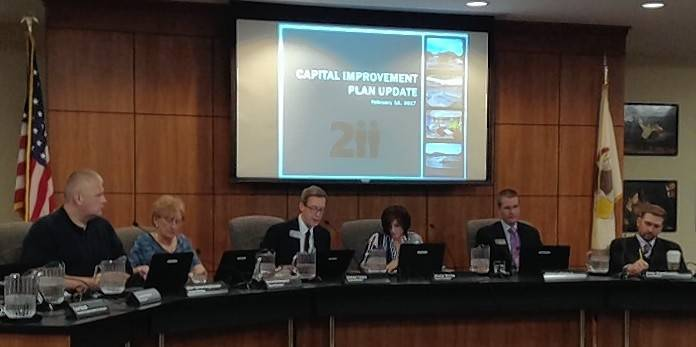 Palatine-Schaumburg High School District 211 Board of Education hears an update on the district's five-year capital improvement plan and a presentation on a proposed 10-year plan to follow it.