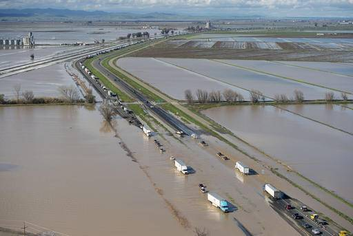 the latest storm aiming for california renews flood fears