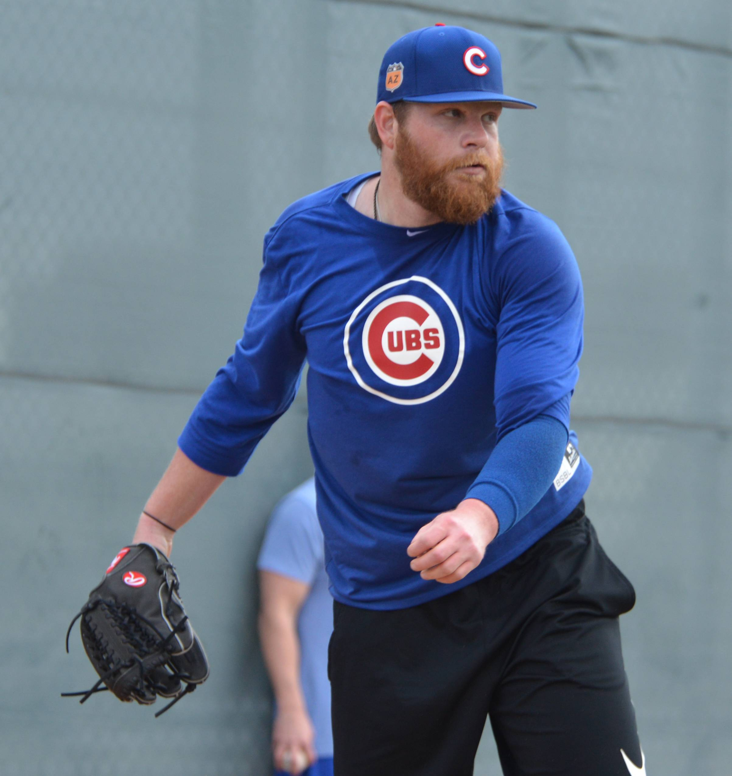 Left-hander Brett Anderson, who was with the Dodgers last season, is trying to win a spot in the Cubs rotation as a fifth starter.
