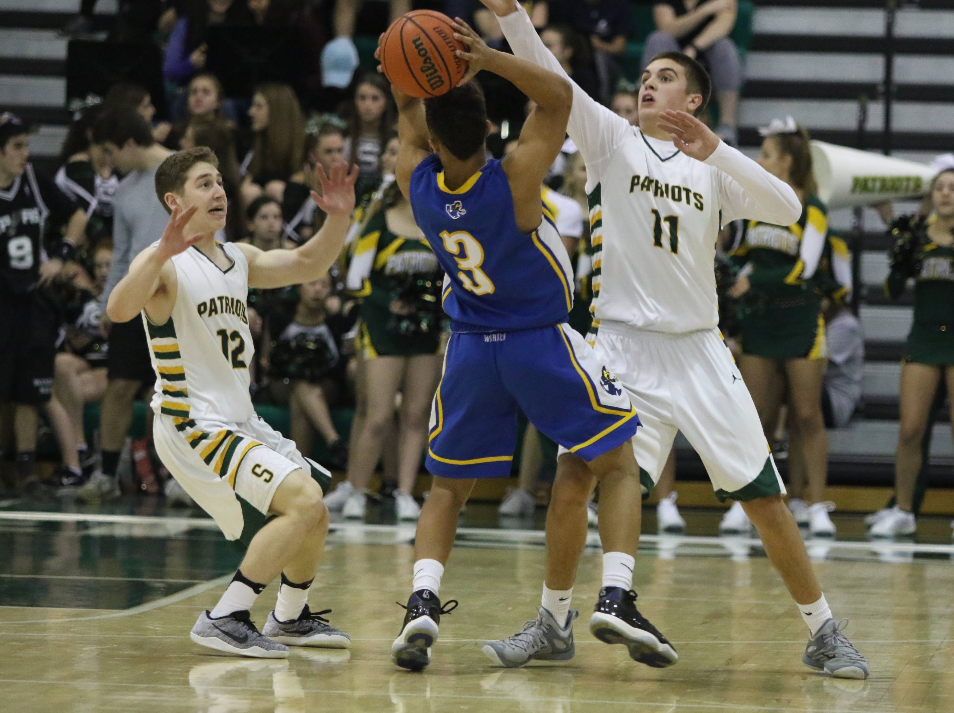 Images from the Stevenson vs. Warren boys basketball game on Wednesday, Feb. 22 in Lincolnshire.
