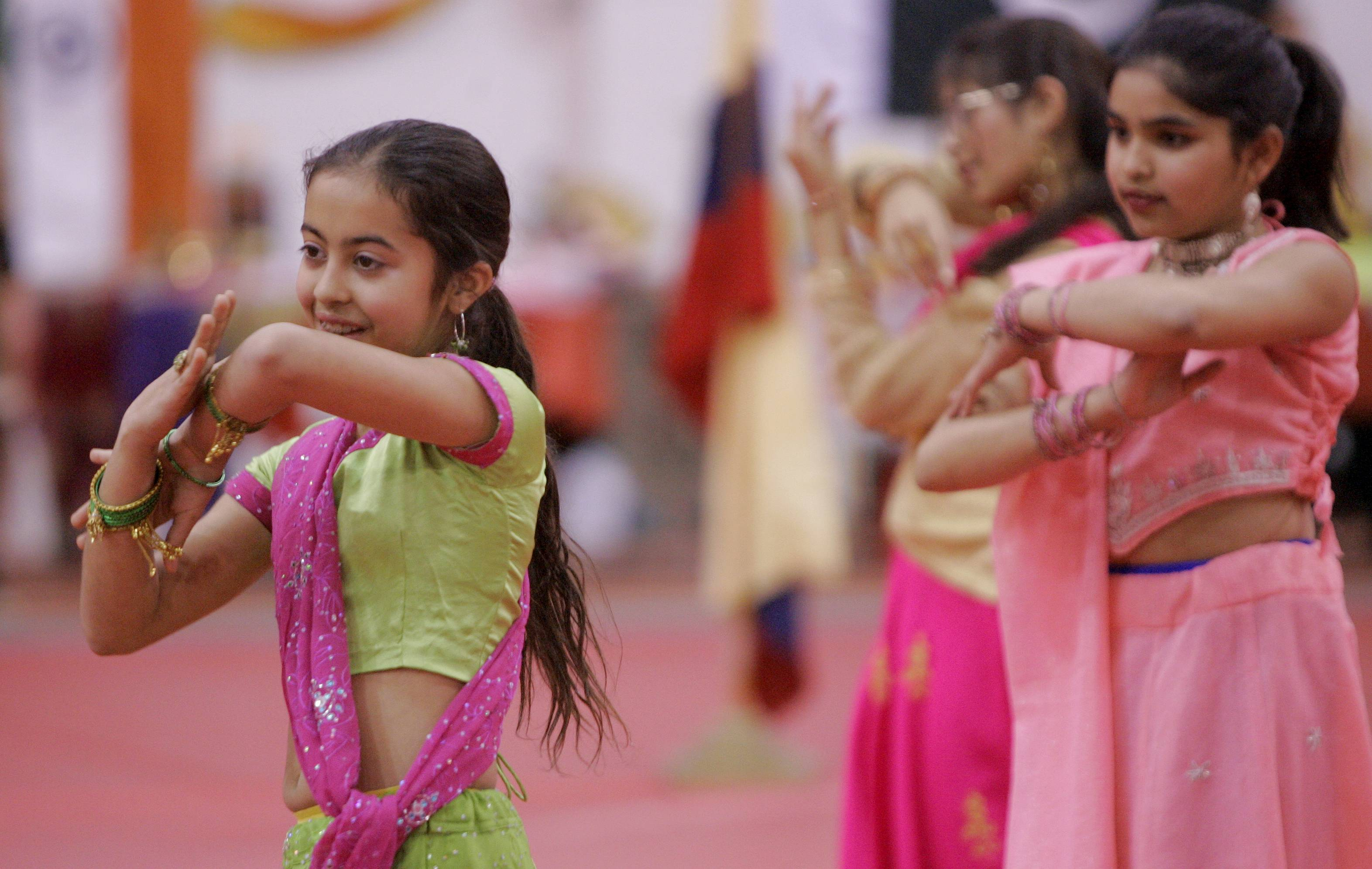 Dances from different cultures are performed at North Central College's International Festival.
