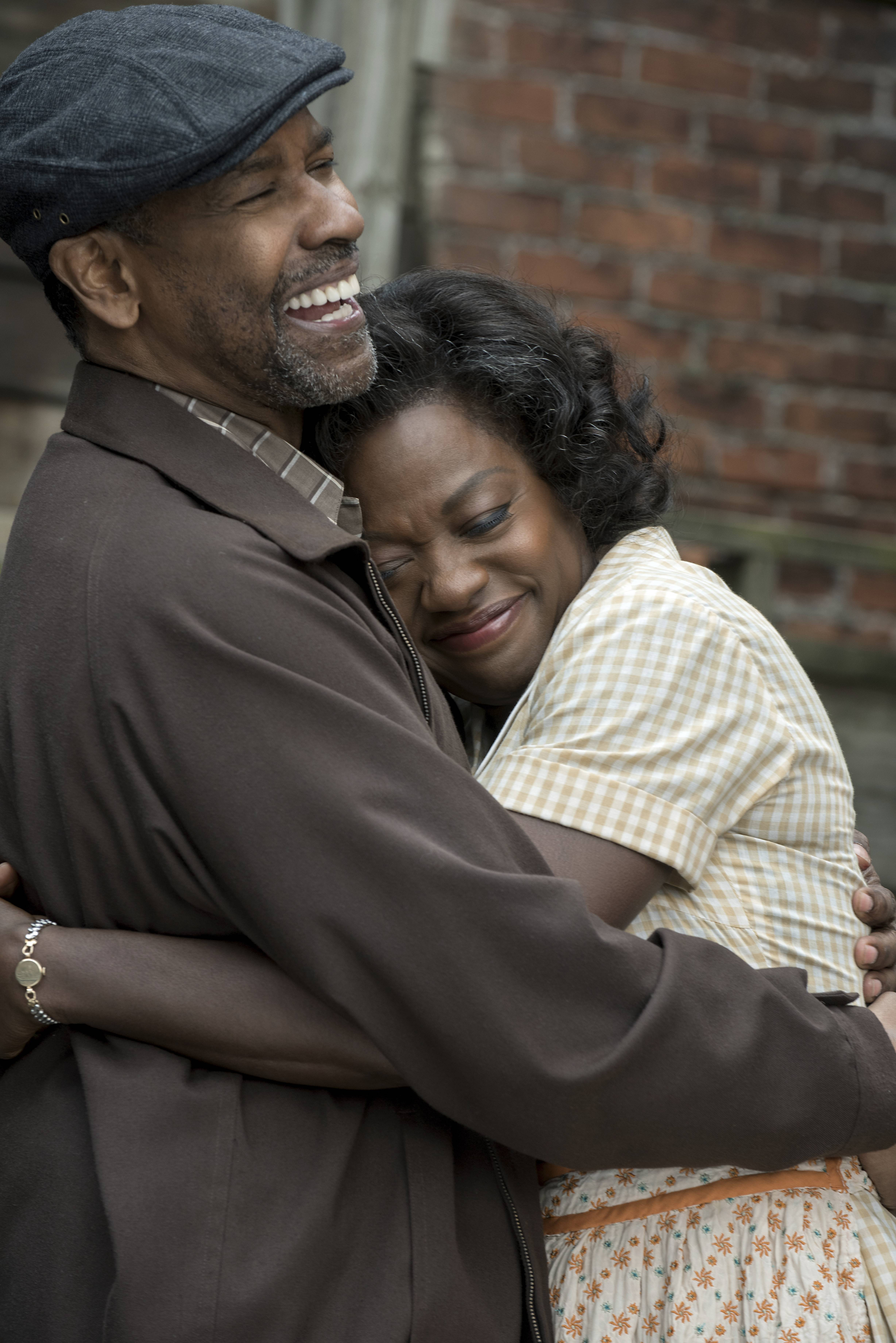 "Denzel Washington, left, and Viola Davis could both take home Oscars Sunday for their work in ""Fences."""