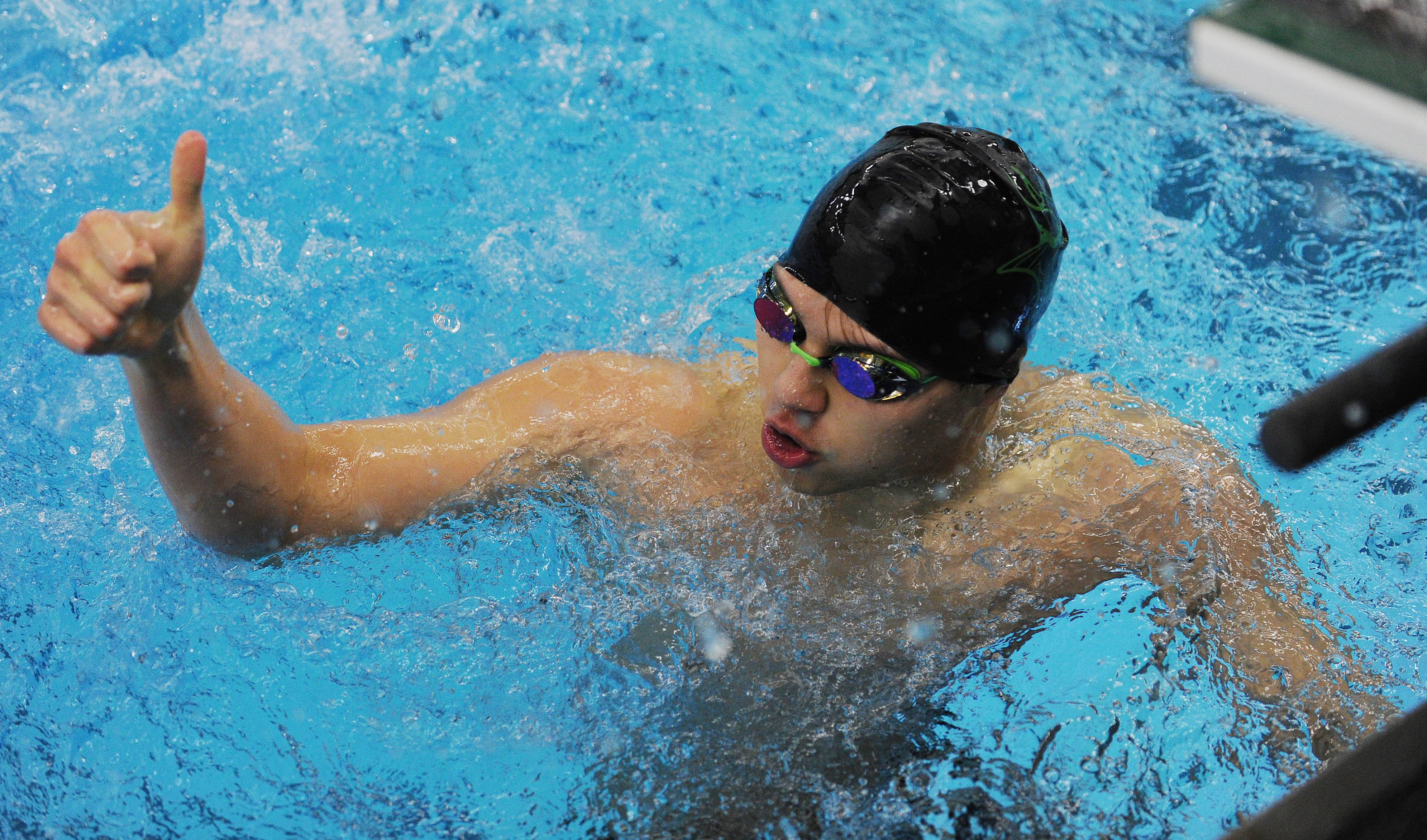 Fremd senior Nick Seroni and his teammates are looking for a positive finish to their high school swimming careers in this weekend's state meet at New Trier.